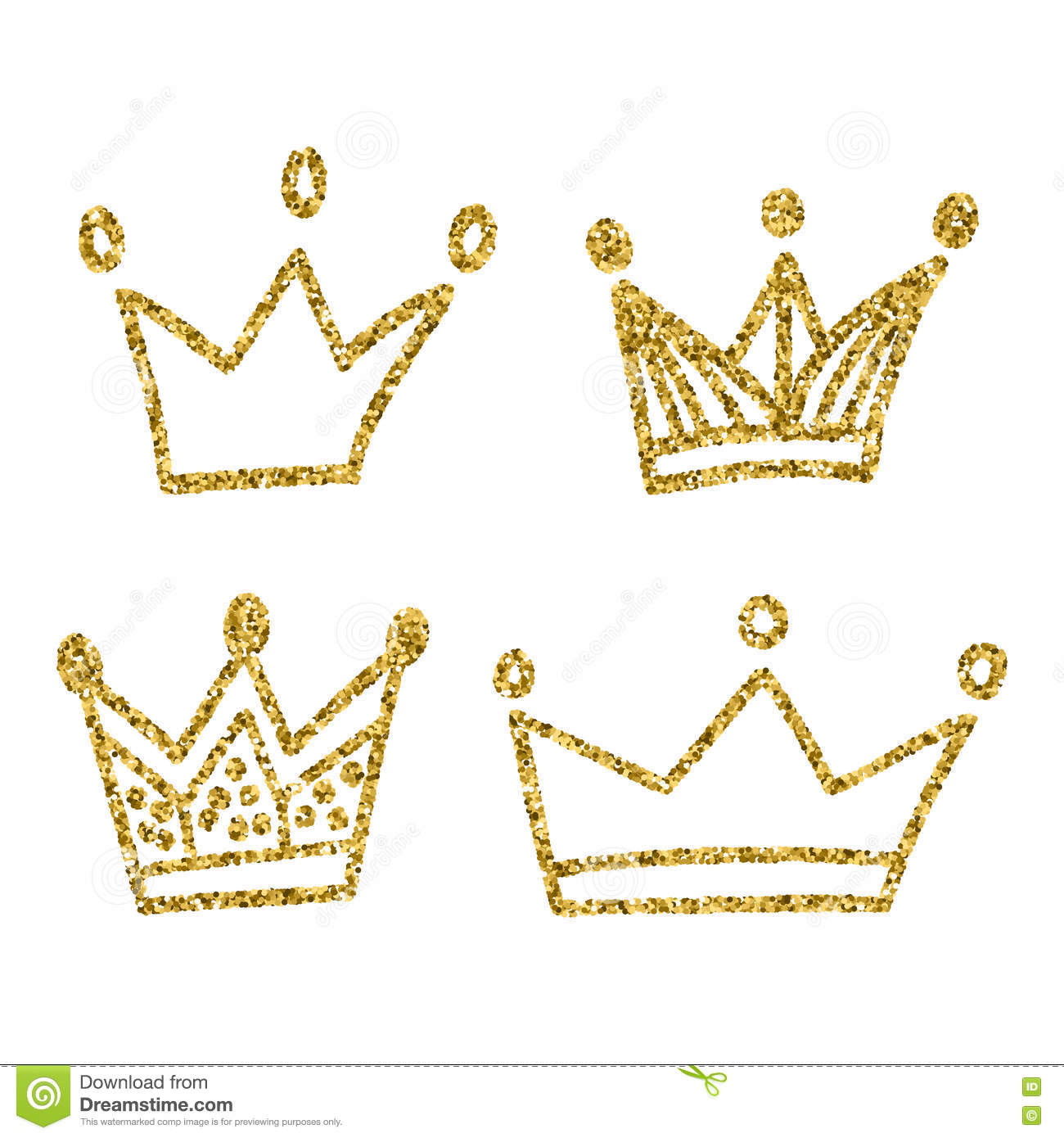 Gold crown background - photo#35