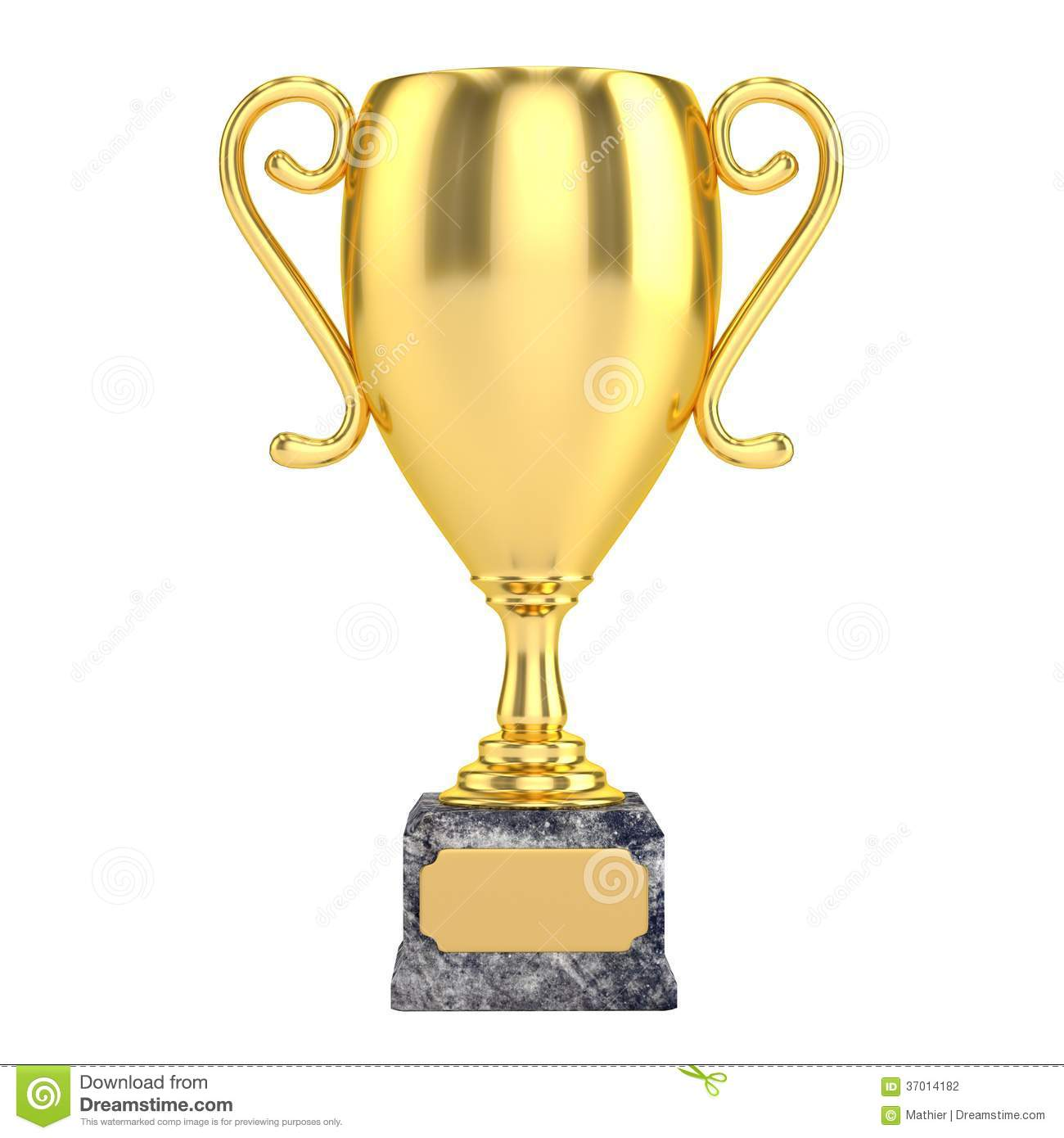 Download Gold Cup Isolated Stock Photo Illustration Of Competition