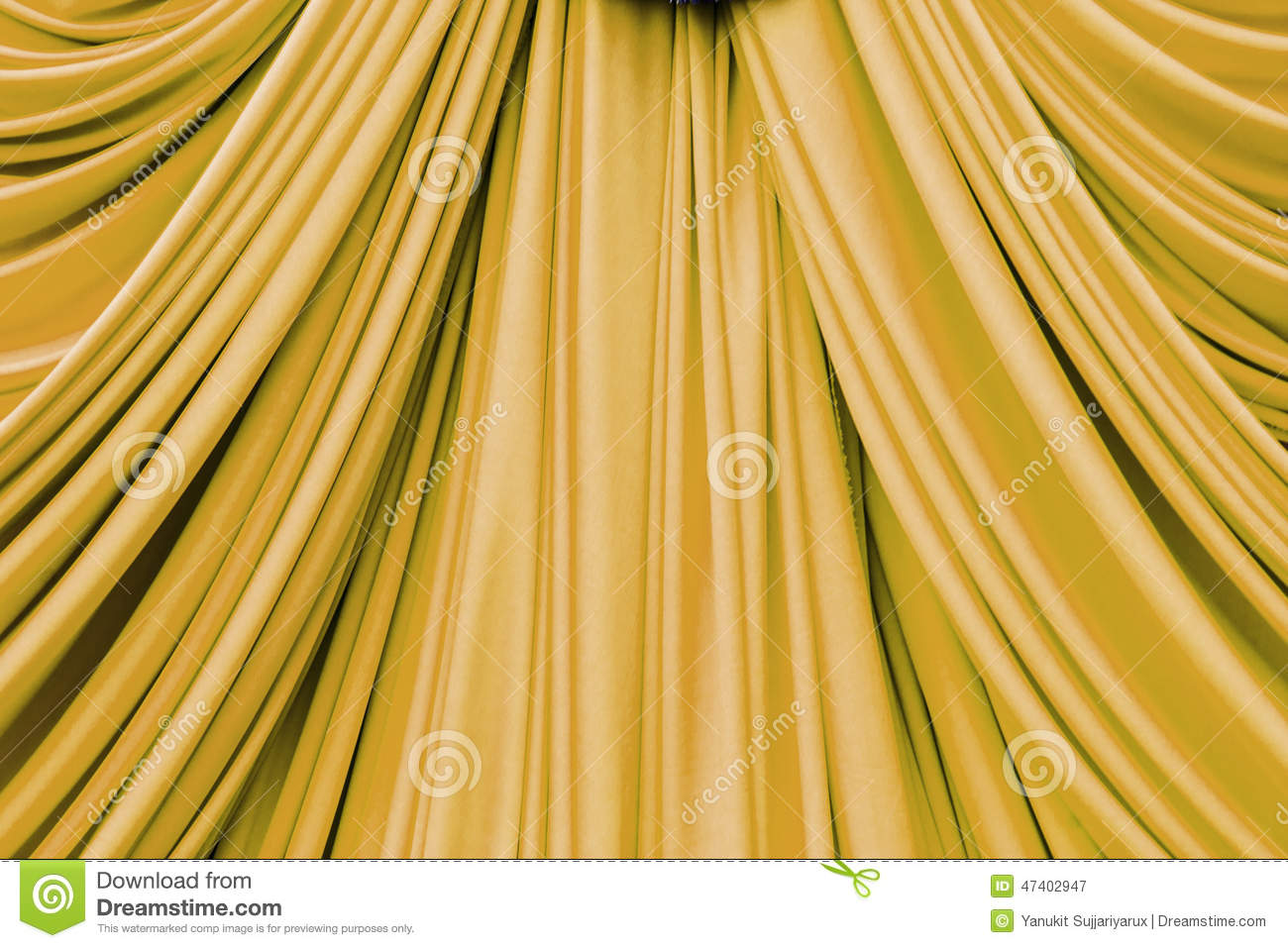 Curtains texture gold - Background Curtain Gold Texture