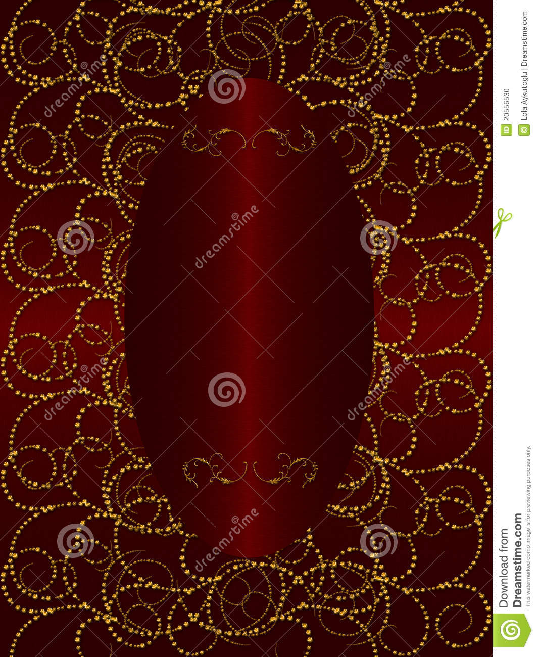 Gold with dark red vintage background stock photo image for Red with gold