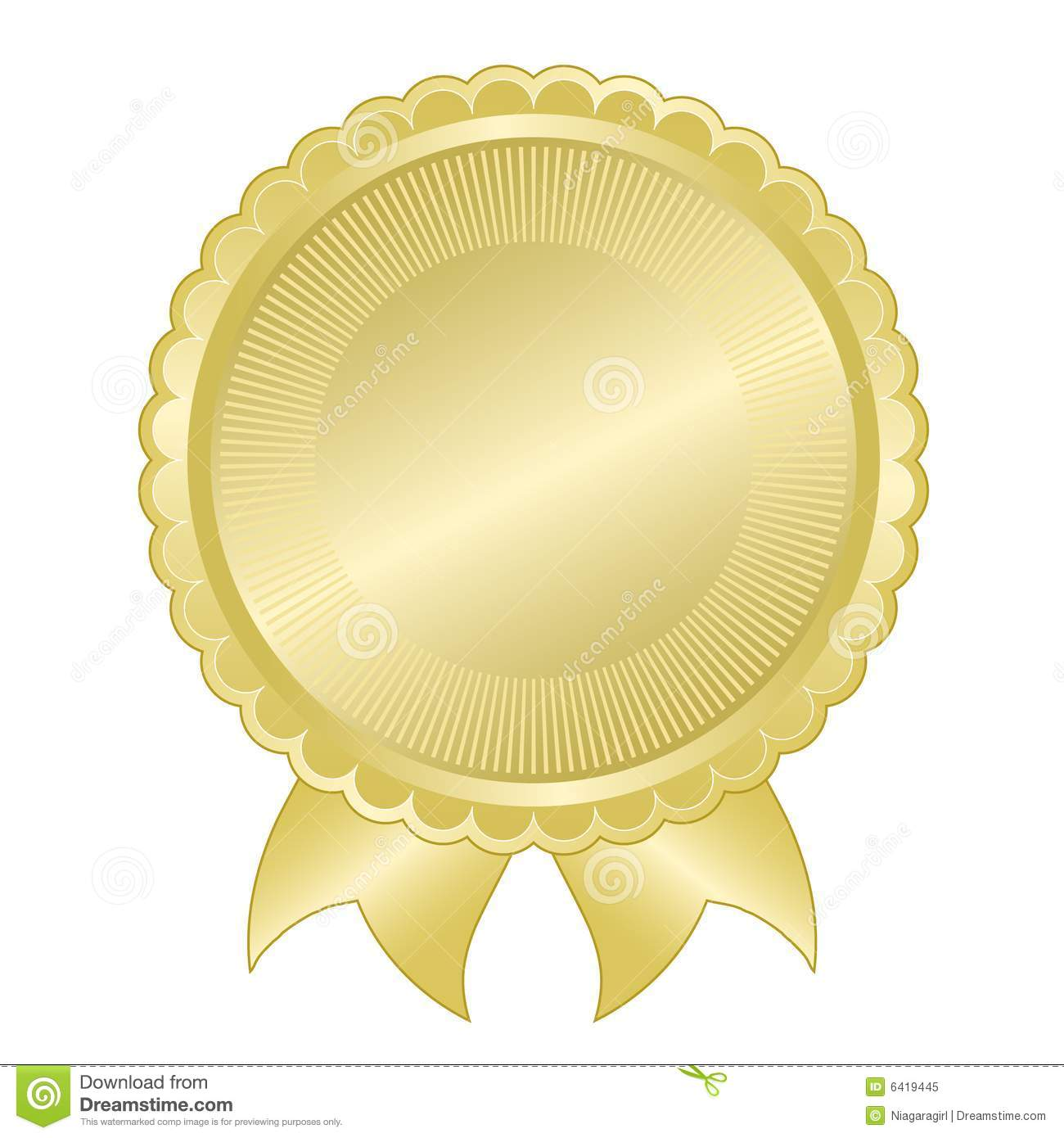 Quality Seal Clipart Embossed gold f...
