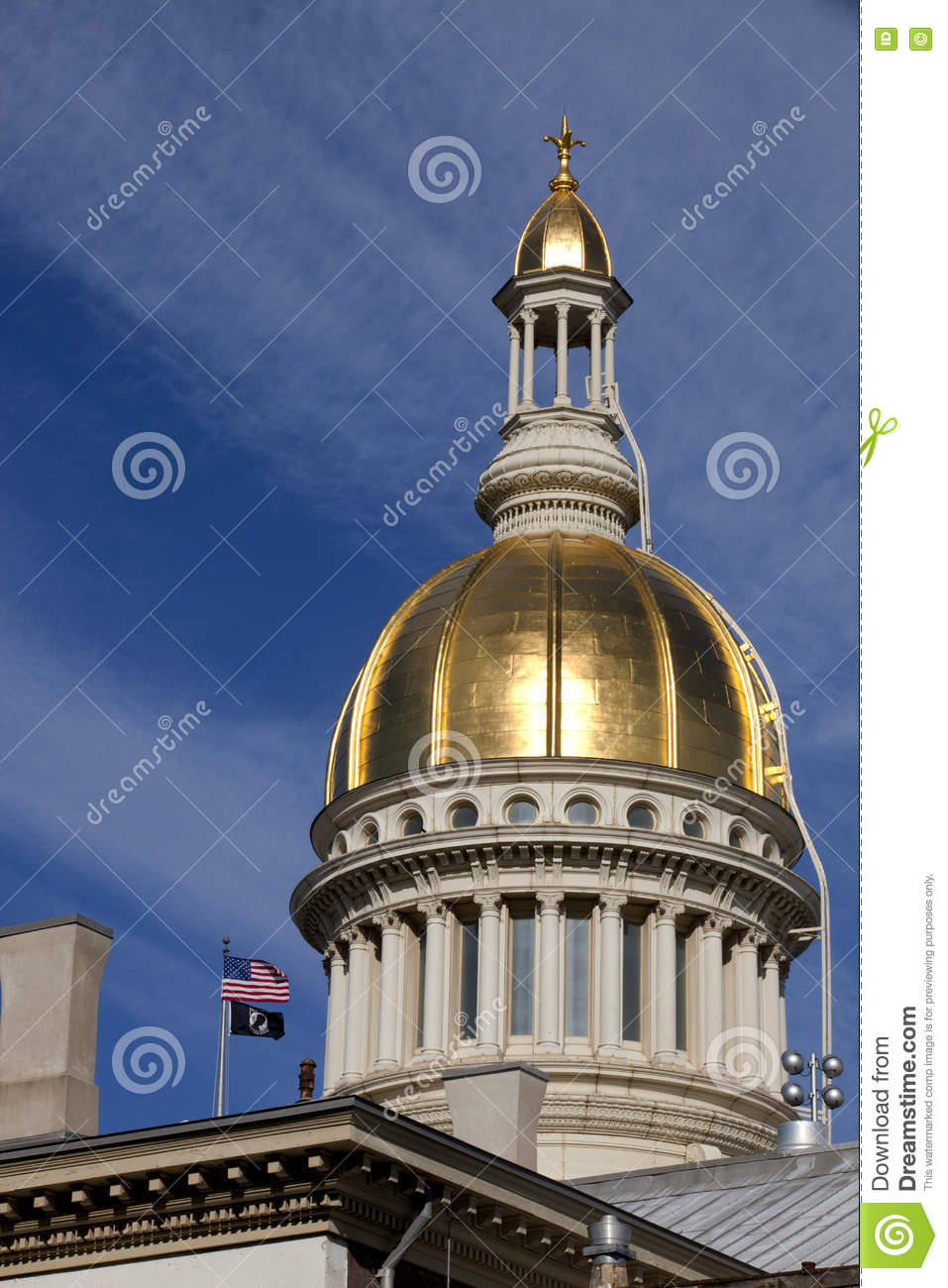 Gold Dome State Capitol Buildings