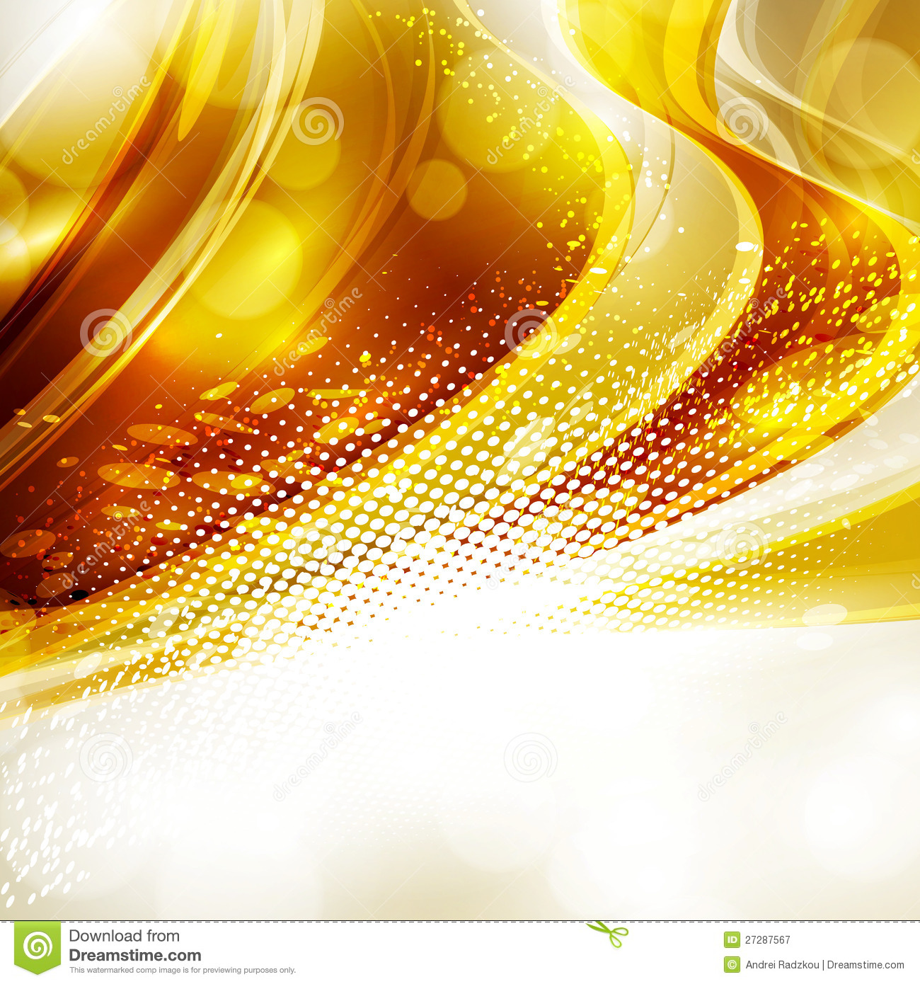 Gold and black grunge background