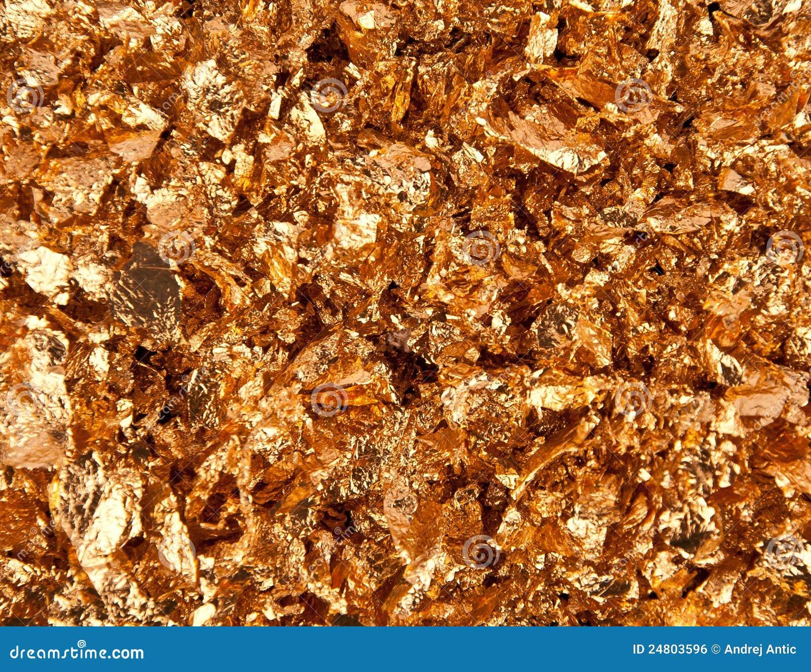 gold flakes royalty free stock image image 24803596
