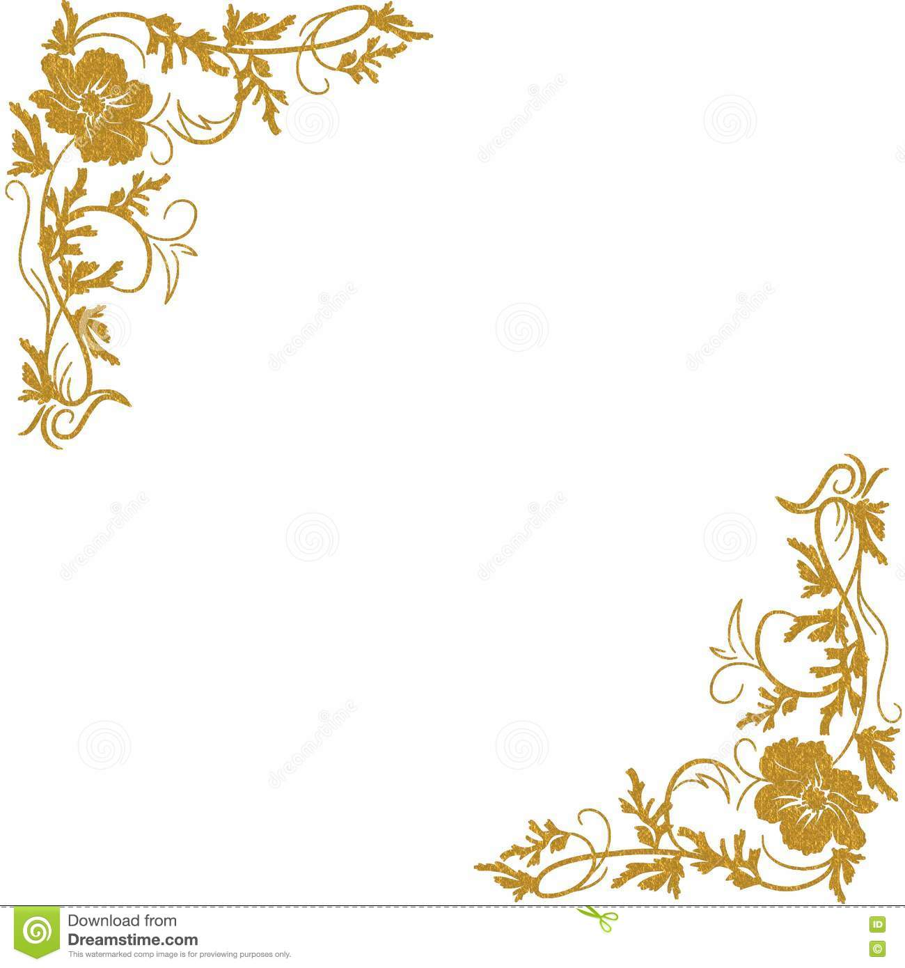 gold floral border pictures to pin on pinterest pinsdaddy