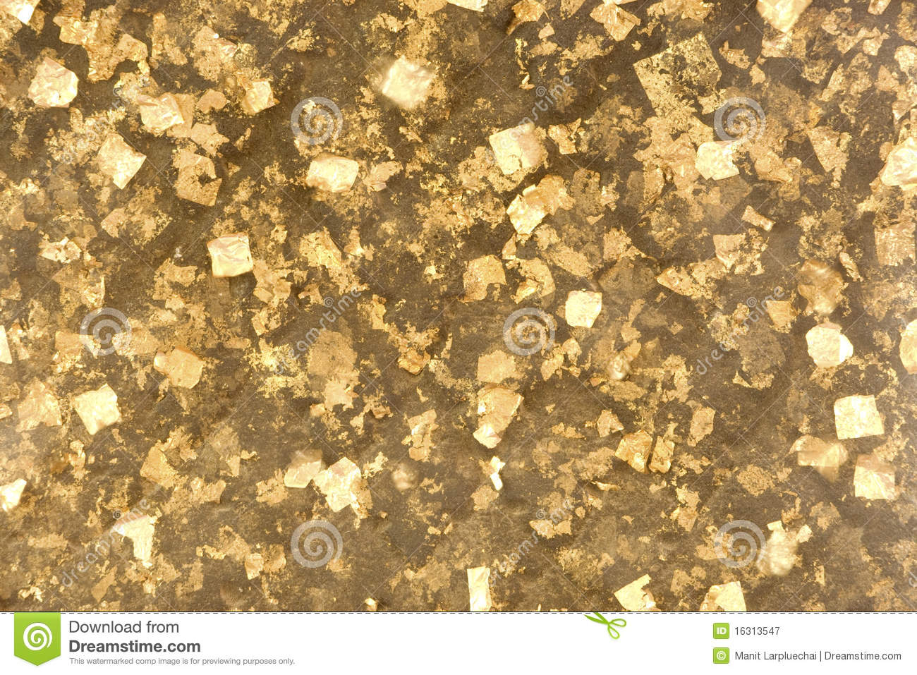 Gold Foil. Royalty Free Stock Photography - Image: 16313547