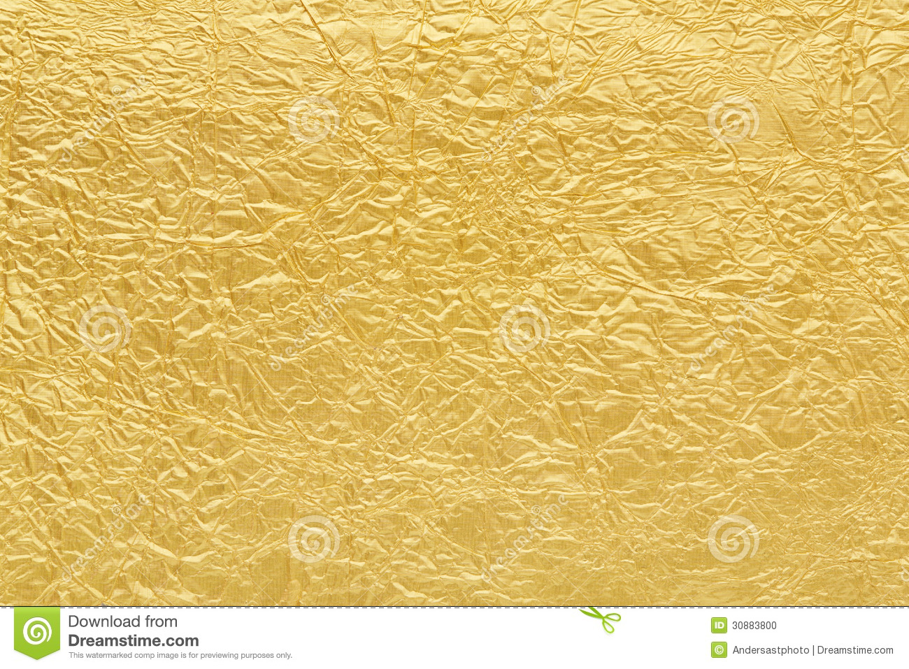 Gold foil background texture