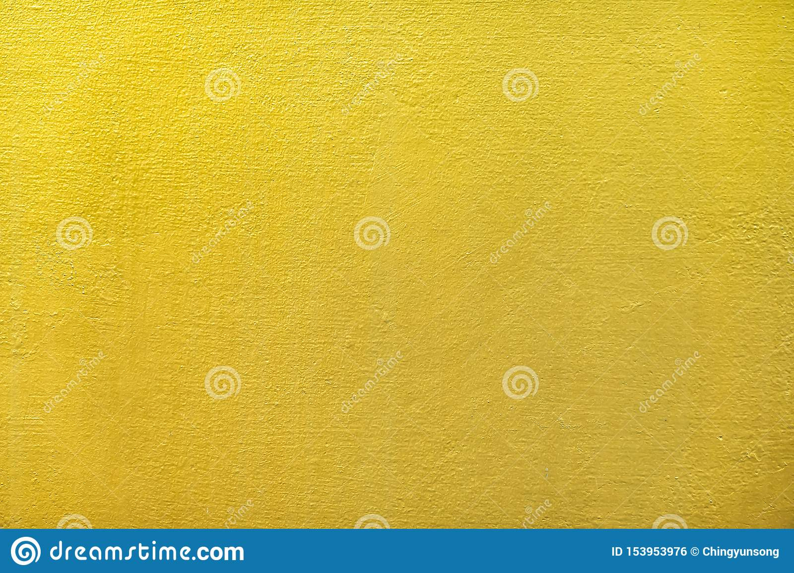 Gold or foil wall paint for the abstract background and texture