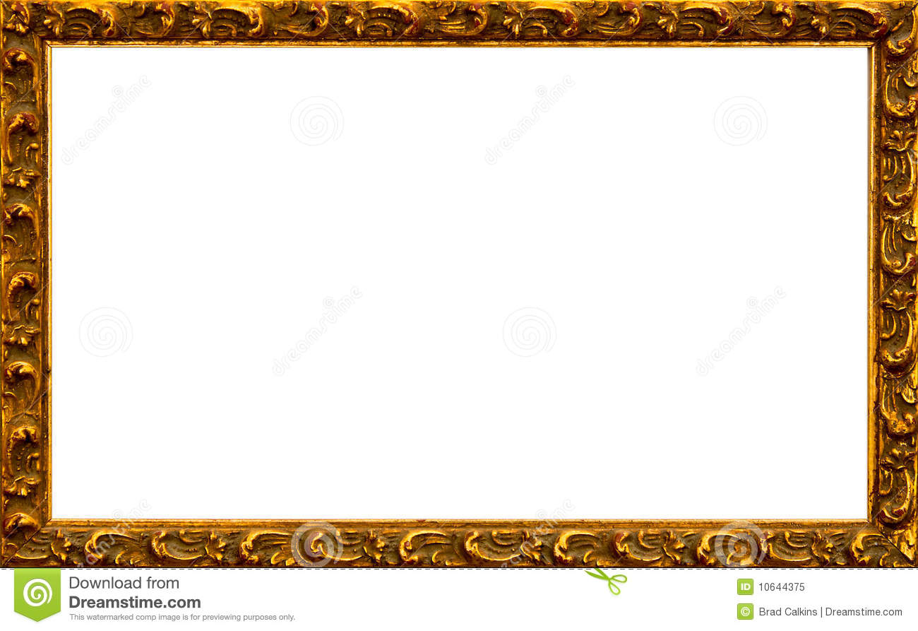 Gold Frame Royalty Free Stock Photo Image 10644375