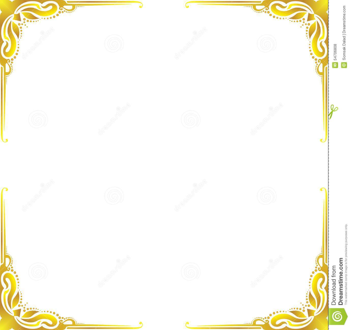 Gold Border Designs Clip Art Pictures to Pin on Pinterest ...