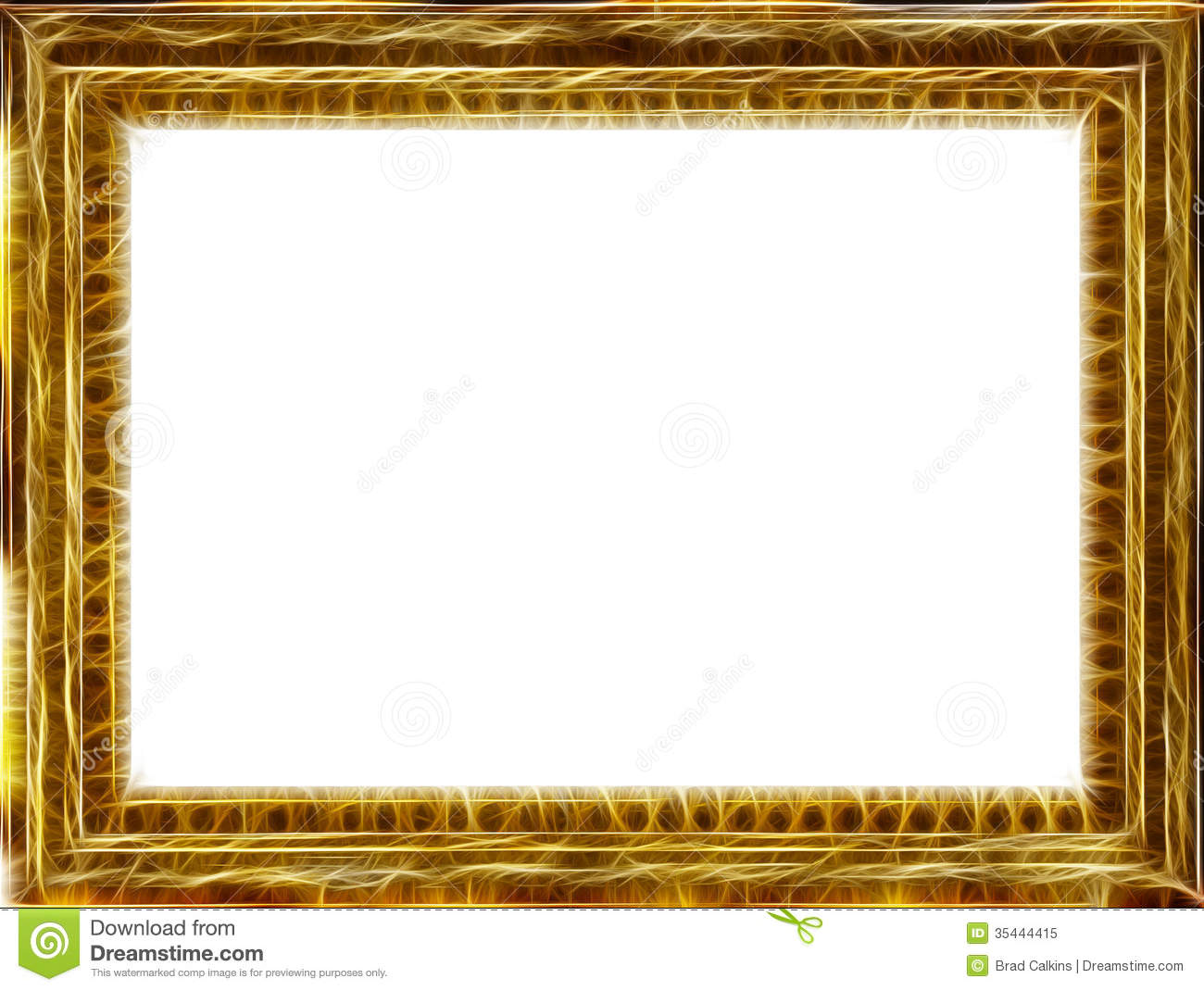 Gold Frame Royalty Free Stock Photo  Image: 35444415