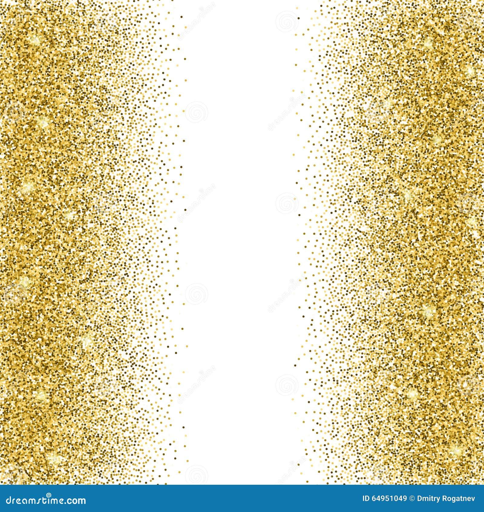 Gold Glitter Background. Stock Vector - Image: 64951049