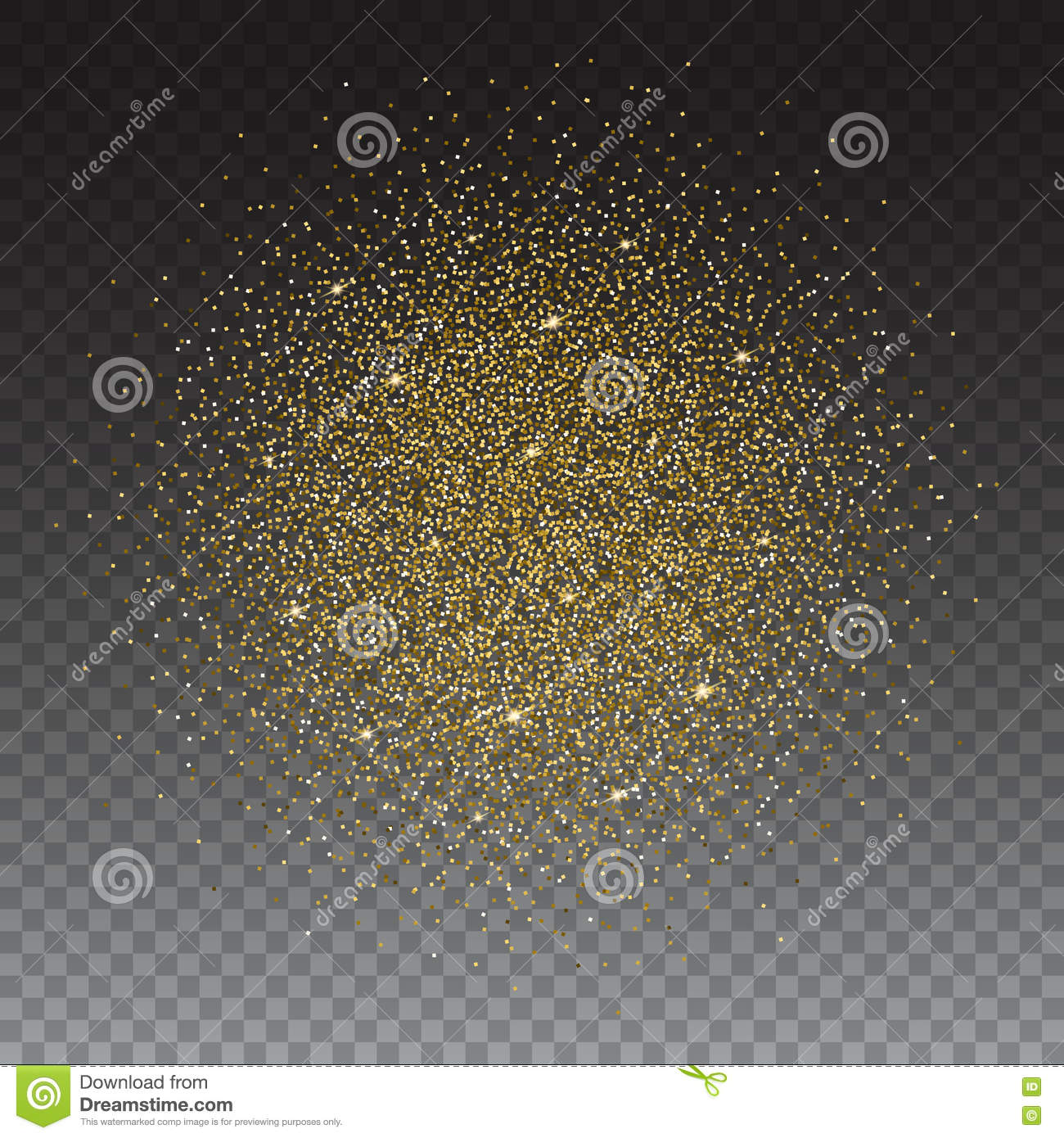 Gold glitter bright vector transparent background golden sparkles - Gold Glitter And Bright Sand Transparent Background Gold Glitter Bright Vector Transparent Background Golden Sparkles