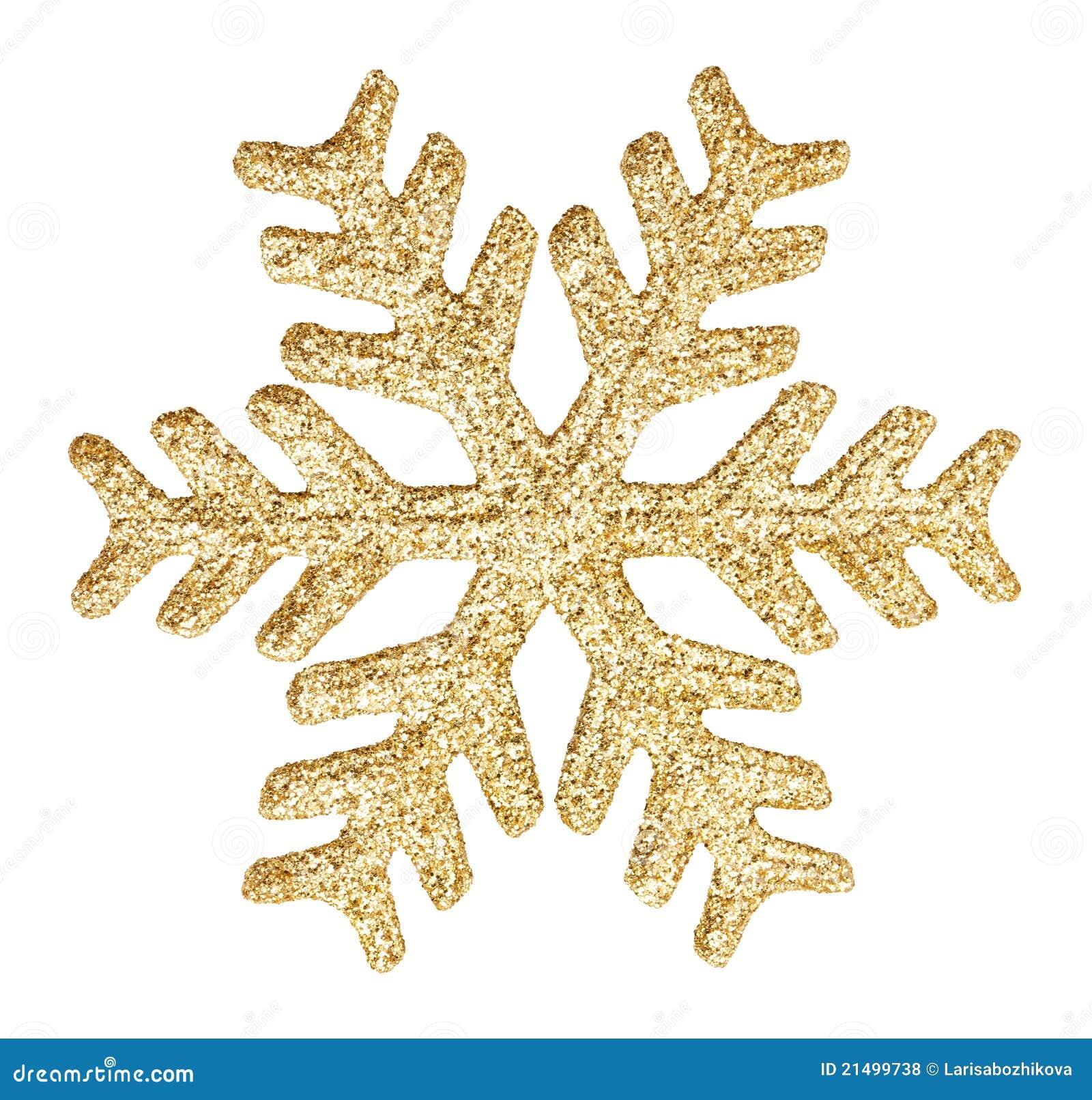Vintage Glitter Schneeflocke Ornamente