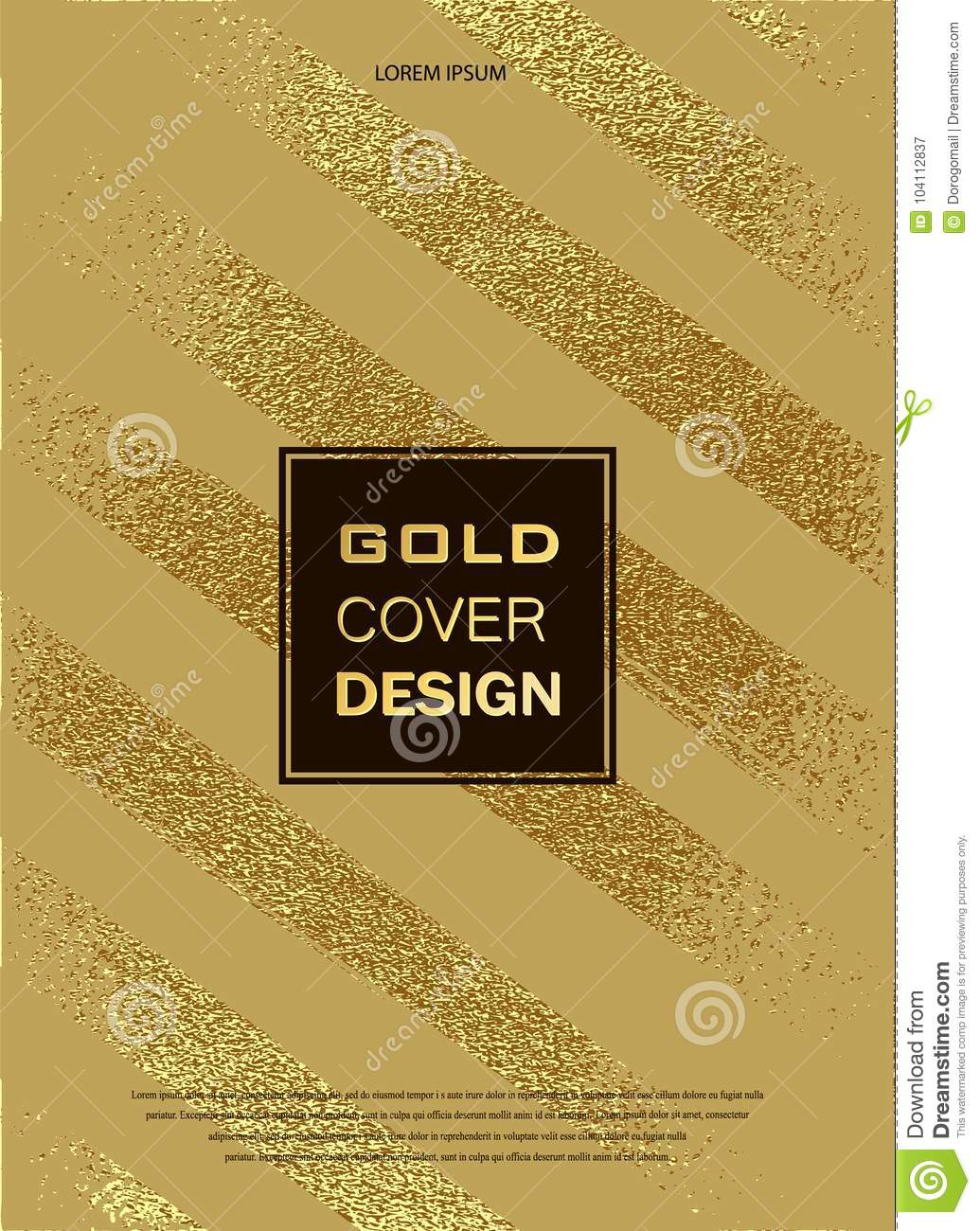 download gold glitter sparkles design template for brochures invitation for new year