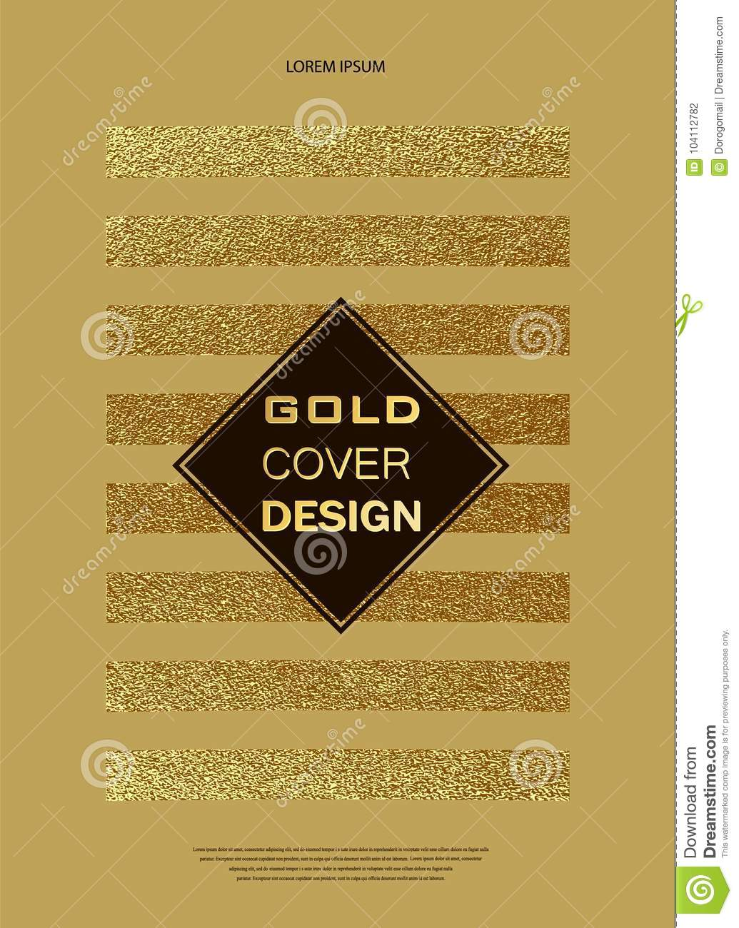 gold glitter sparkles design template for brochures invitation for new year wedding