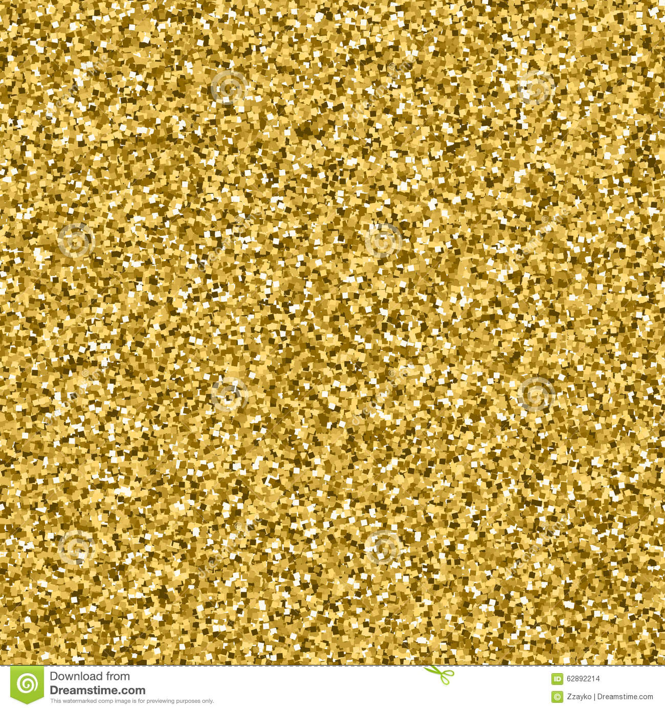 Glitter Gold: Gold Glitter Texture Stock Illustration. Illustration Of