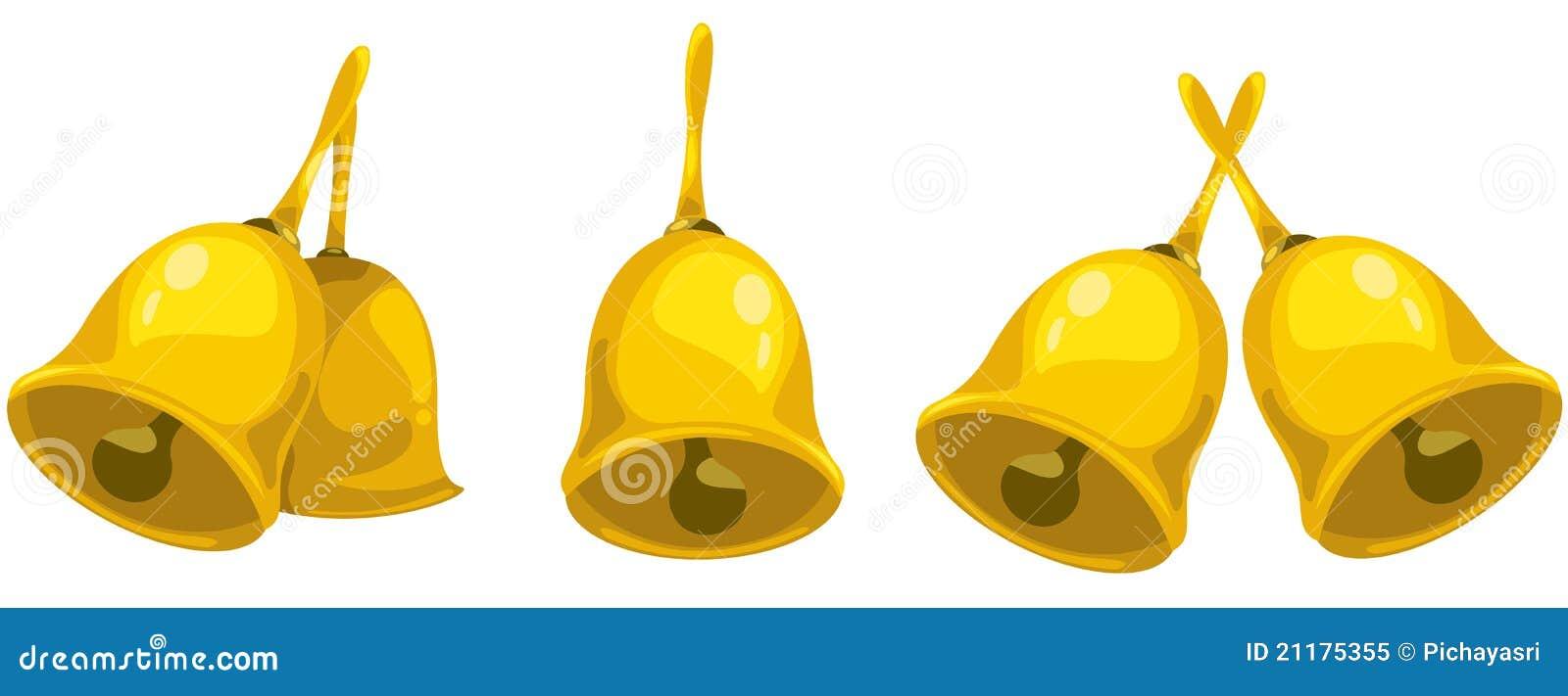 Gold handbell