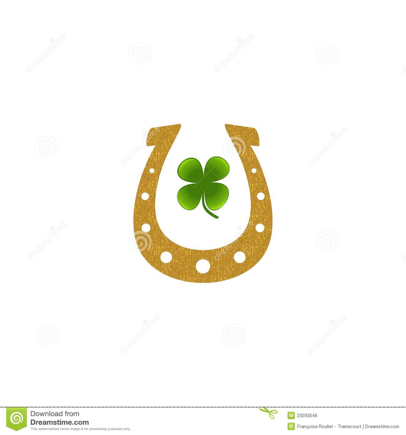 gold horseshoe green four leaf clover royalty free stock horseshoe clip art vector free download free horseshoe clip art images