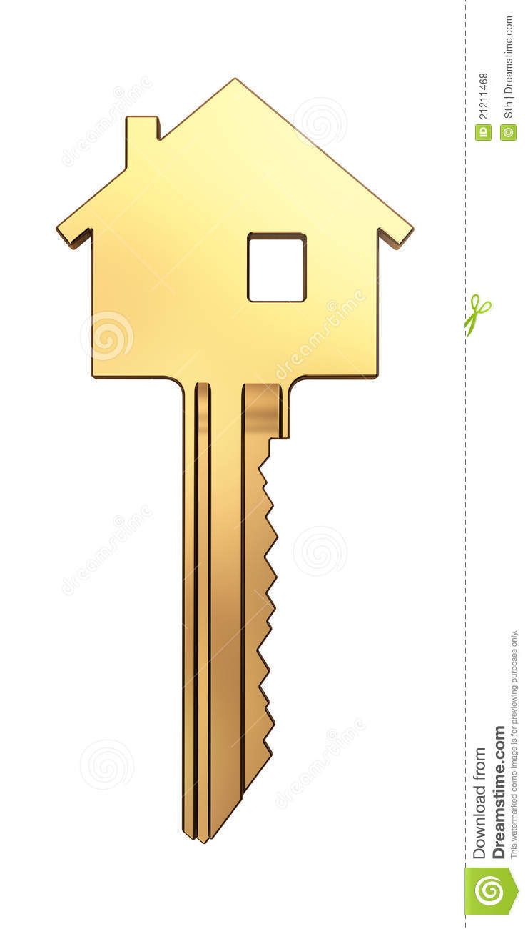 royalty free stock photo download gold house key