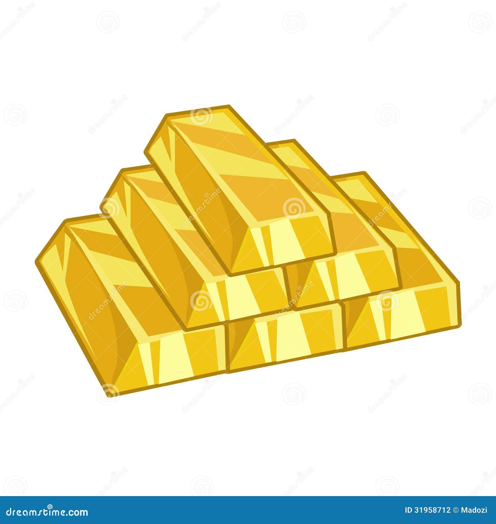 Gold Ingots Stock Photography Image 31958712
