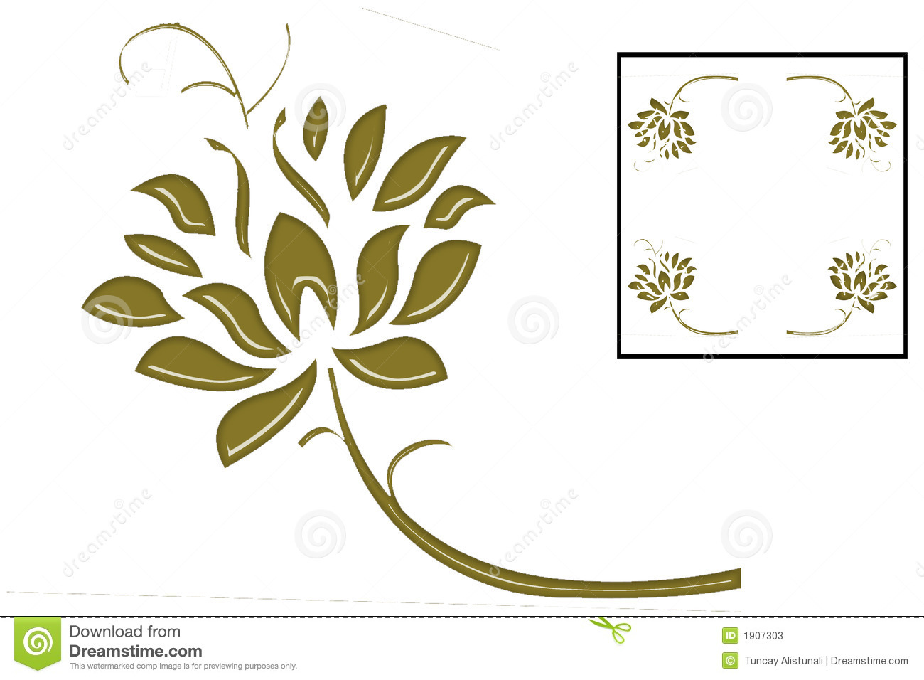 gold ivy is frame  design love stock photos