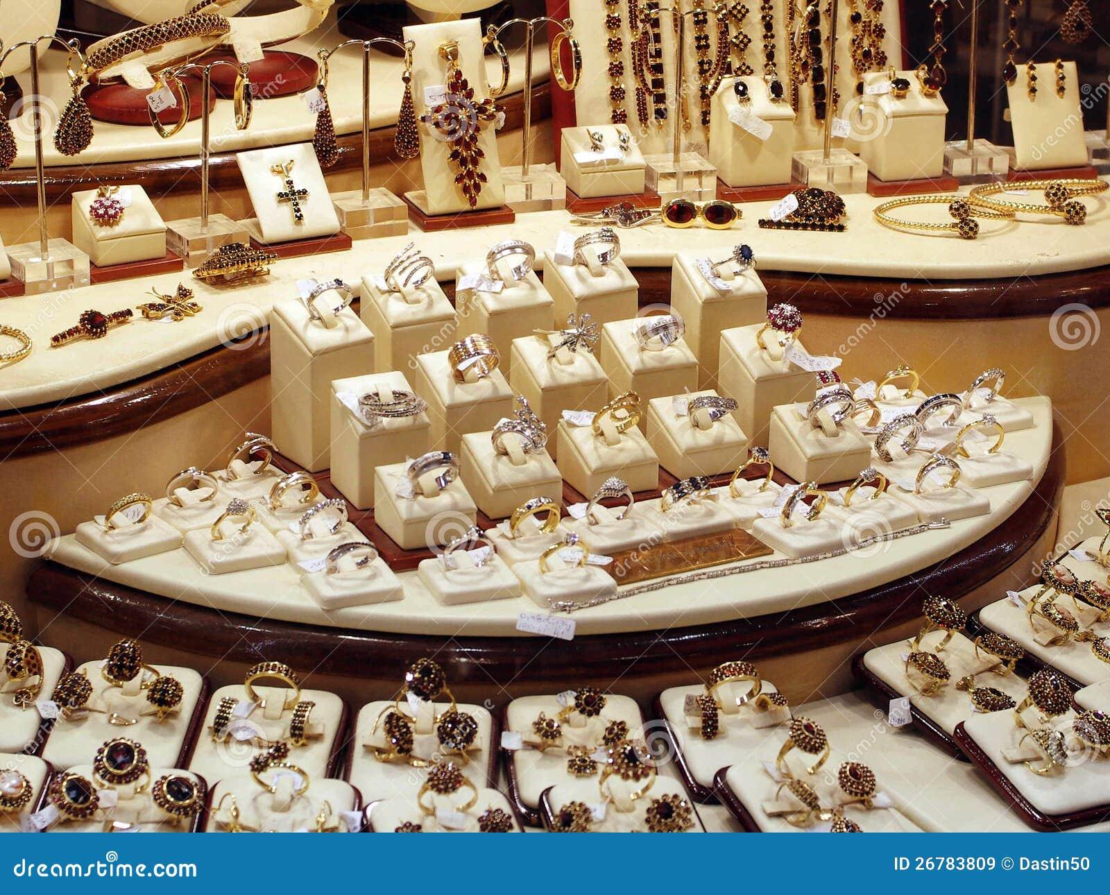 Gold Jewelry Stock Image Image Of Beautiful Horizontal