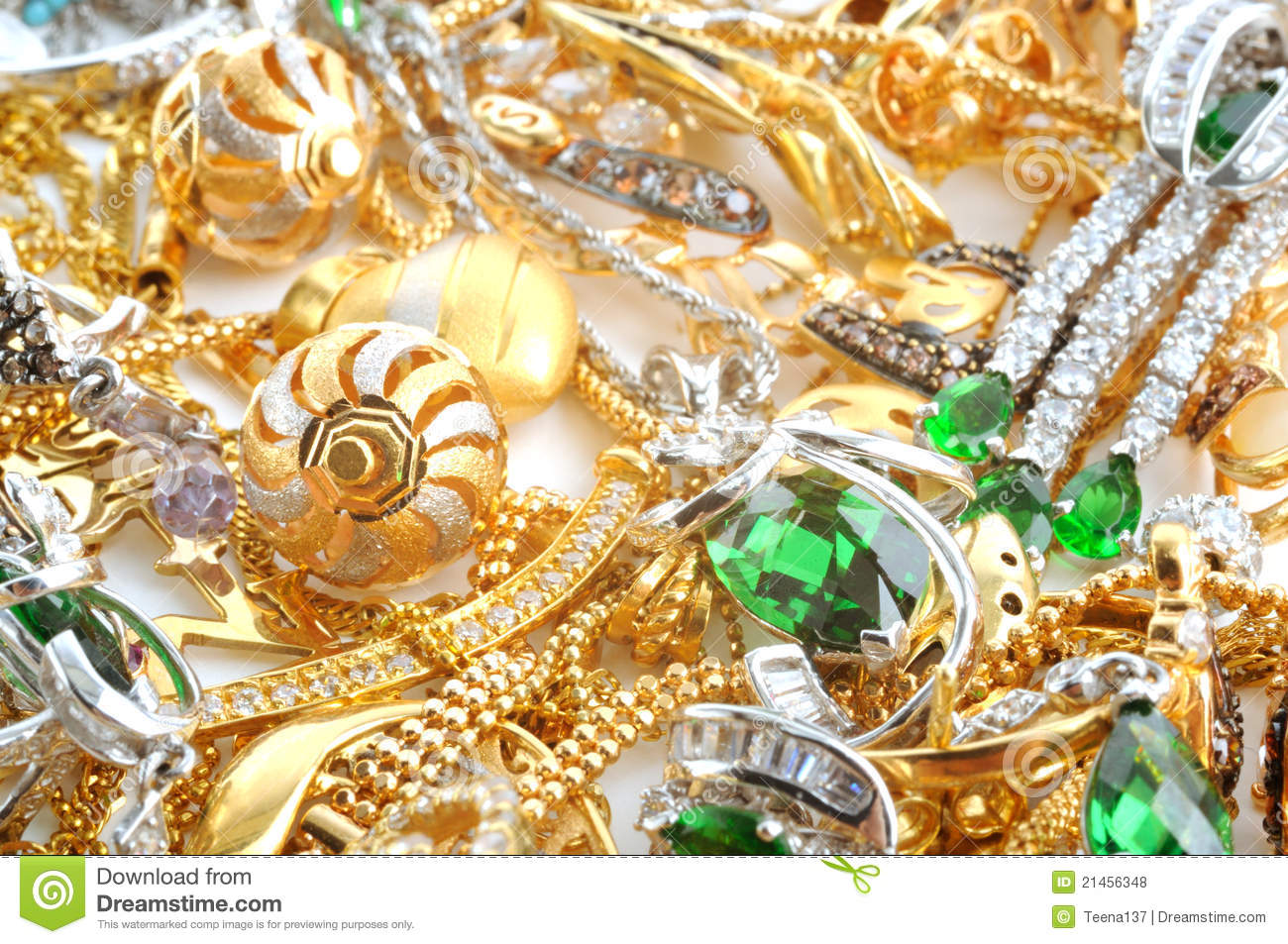 Gold jewelry background stock photo. Image of golden - 21456348