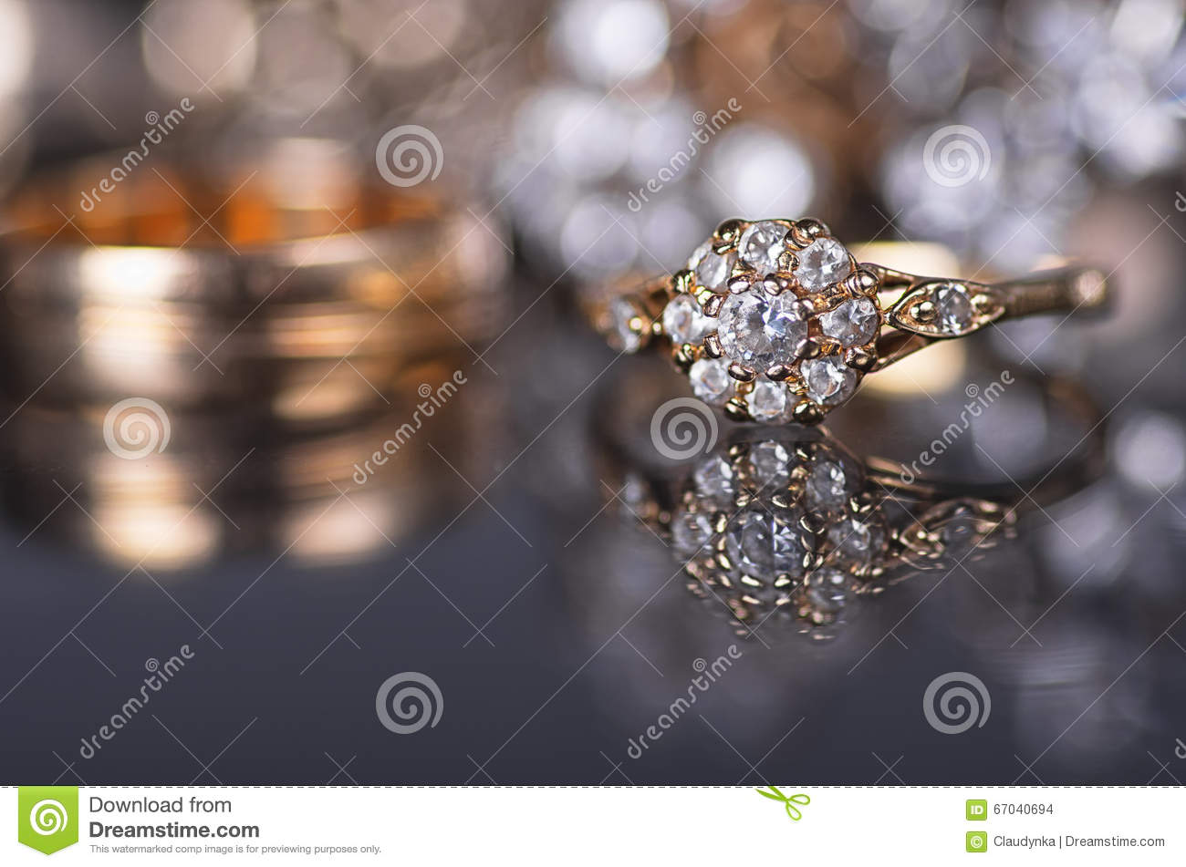 gold jewelry stock photo image 67040694