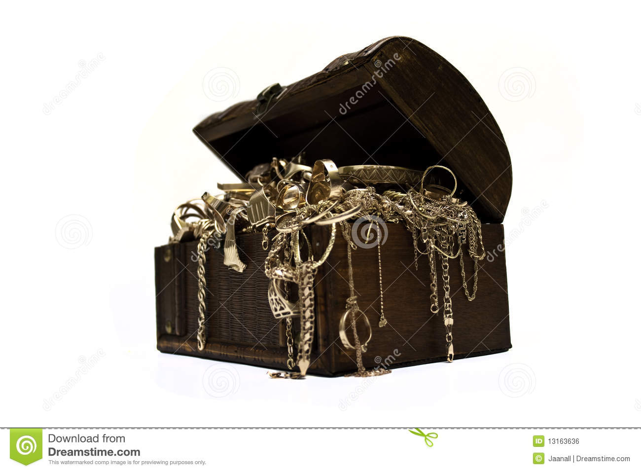 gold jewelry chest royalty free stock image image 13163636
