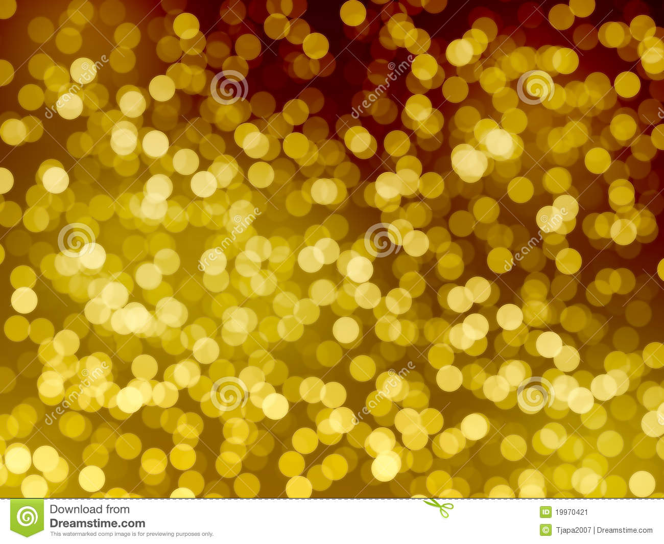 Gold Lights Backgrounds Gold lights blur background