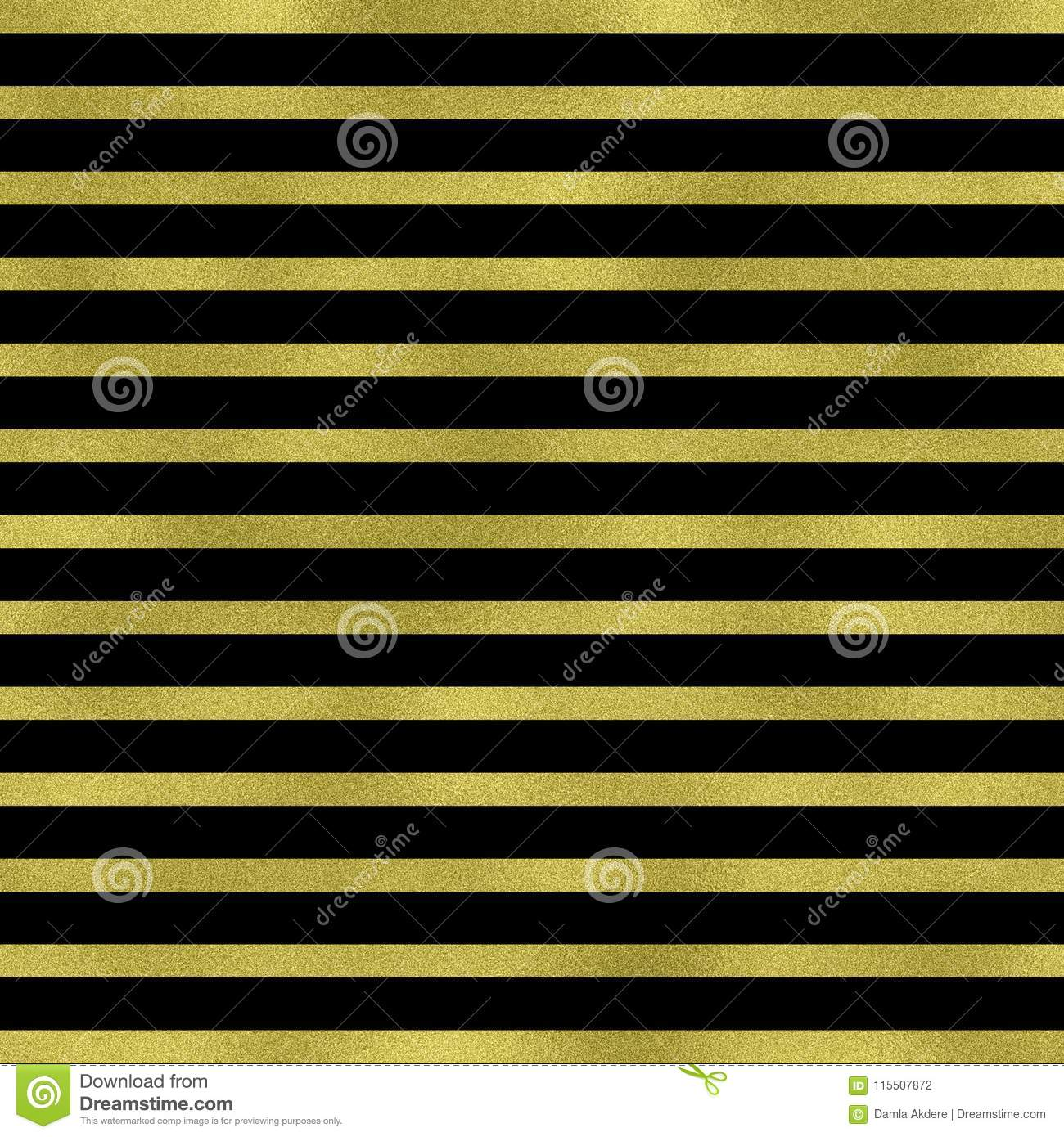 Gold Lines On Black Background Gold Geometric Texture
