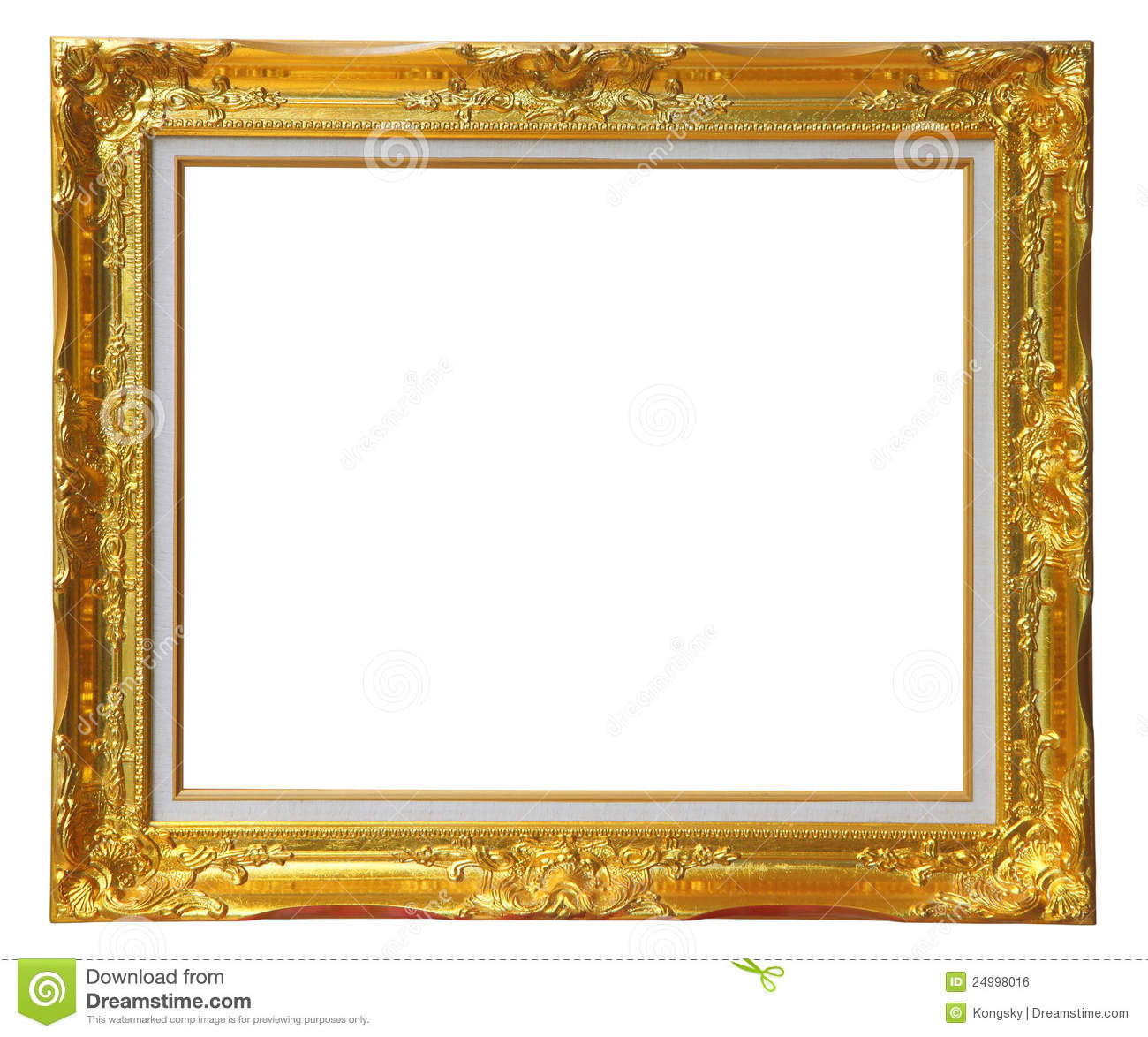 Gold louise frame