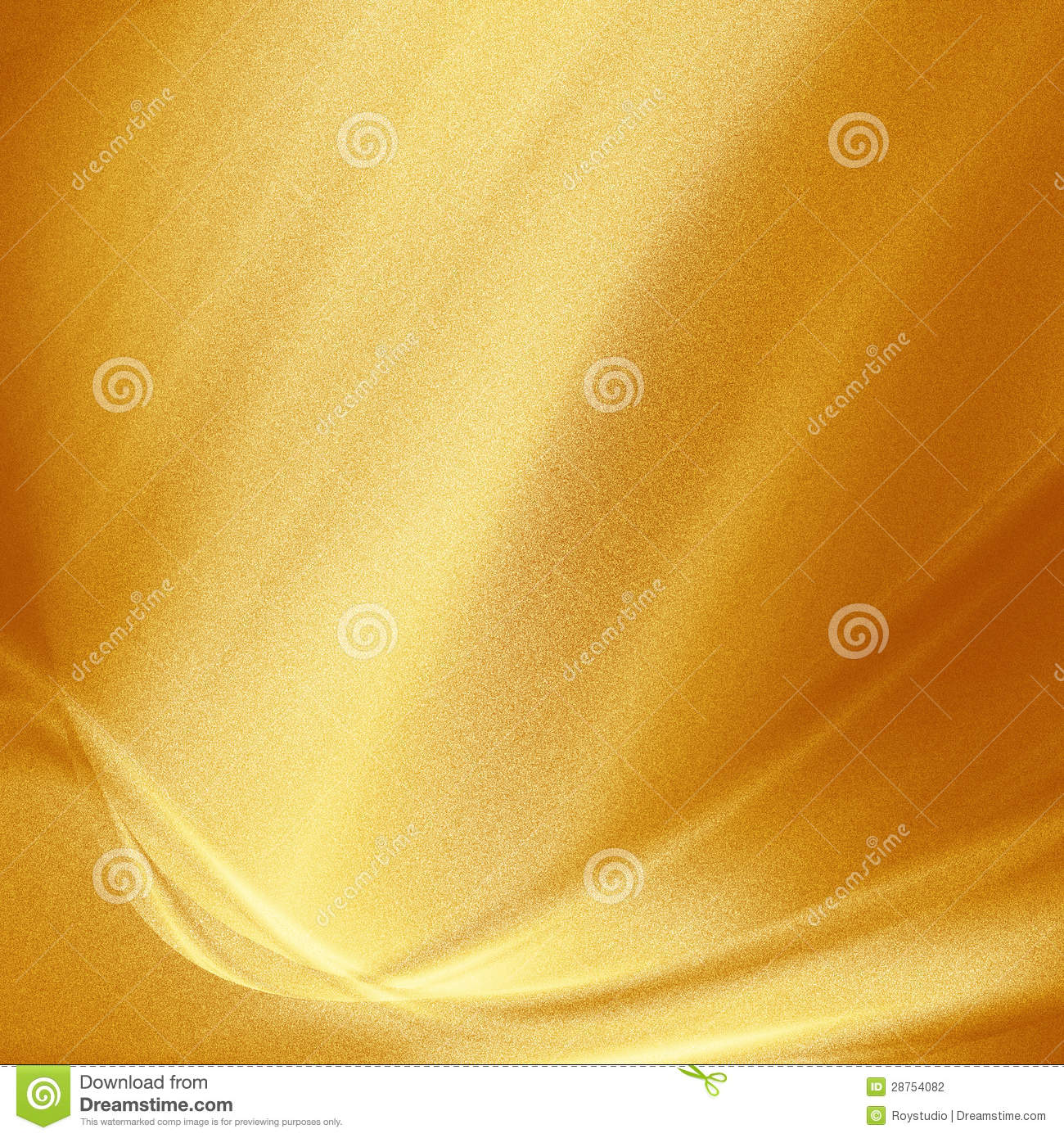 Gold metal background dotted texture