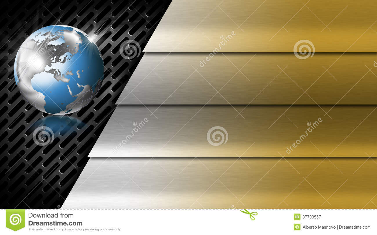 Gold and metal business card stock illustration illustration of download comp reheart Images