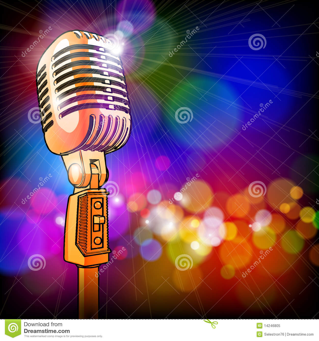 Royalty Free Stock Photo Gold Microphone Color Lights Image14246805 additionally Product in addition Item 22737 Kenwood KVT 516 also 338886 likewise Microphone On Stage Wallpaper 2. on old radio microphones