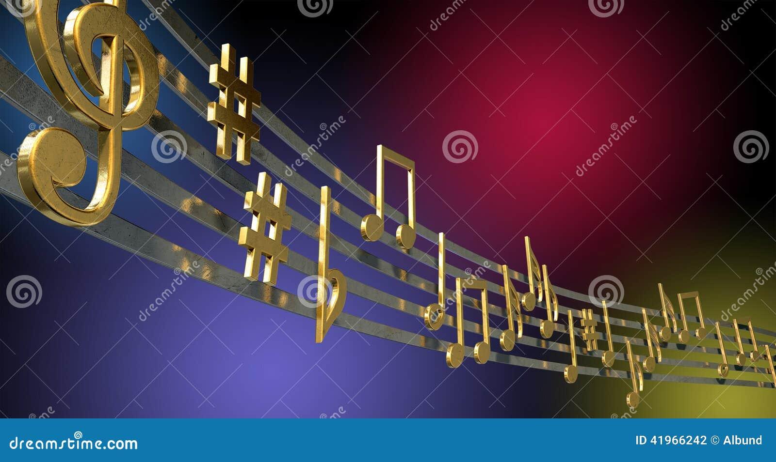 White music note icon