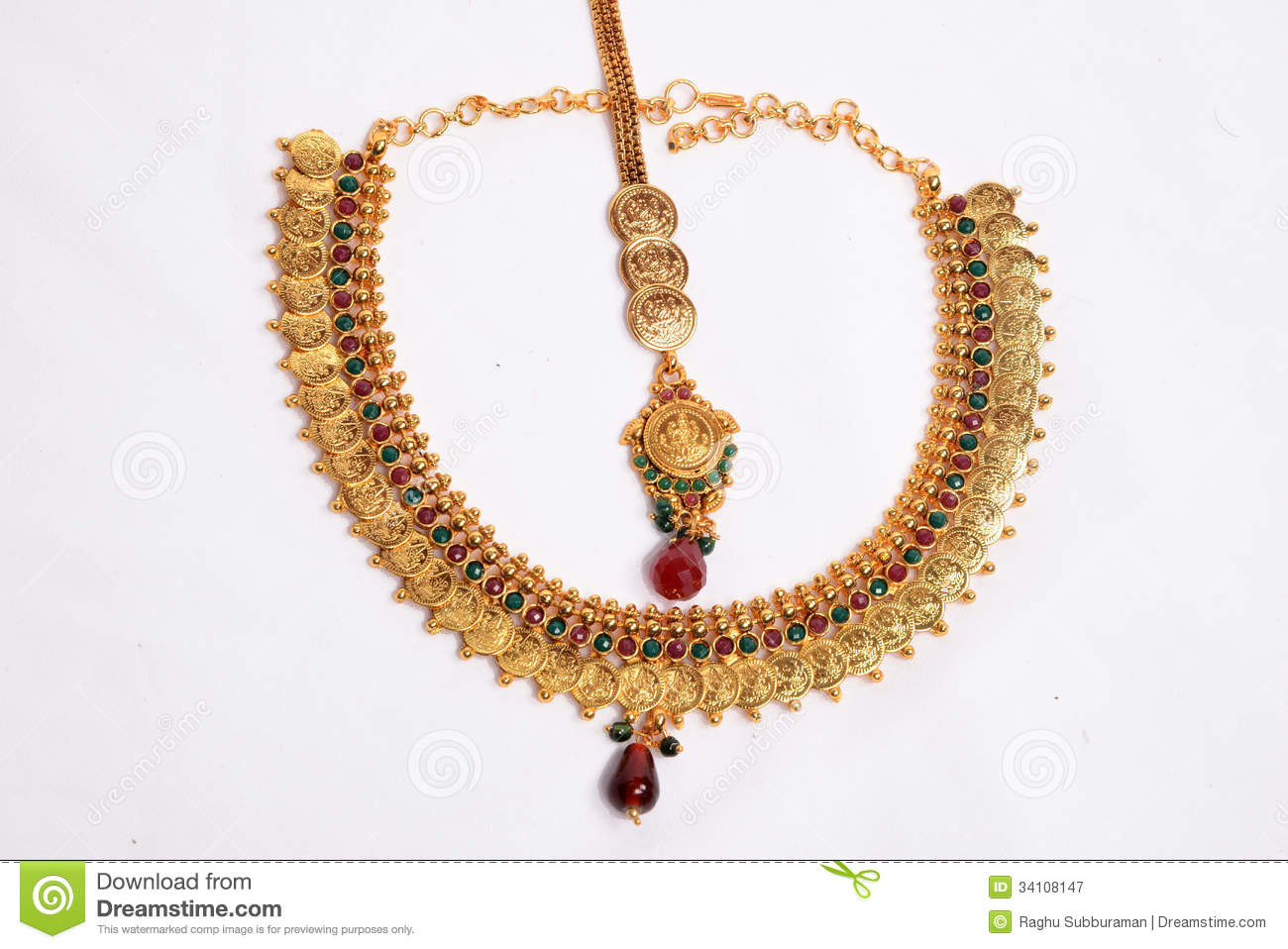 Gold Necklace Stock Images - Download 28,728 Photos