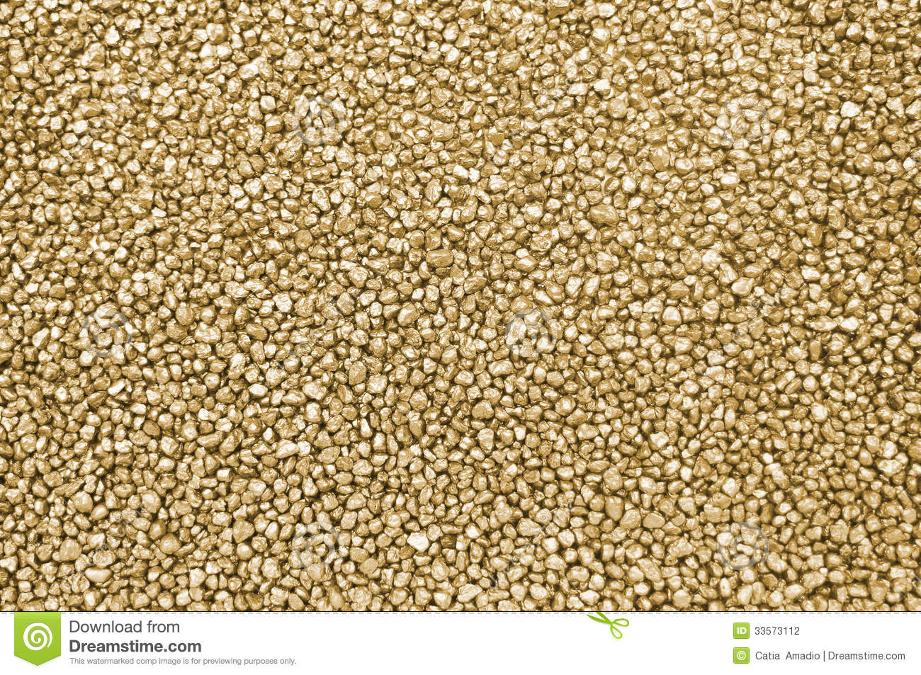 Gold Nuggets Background Stock Photography - Image: 33573112