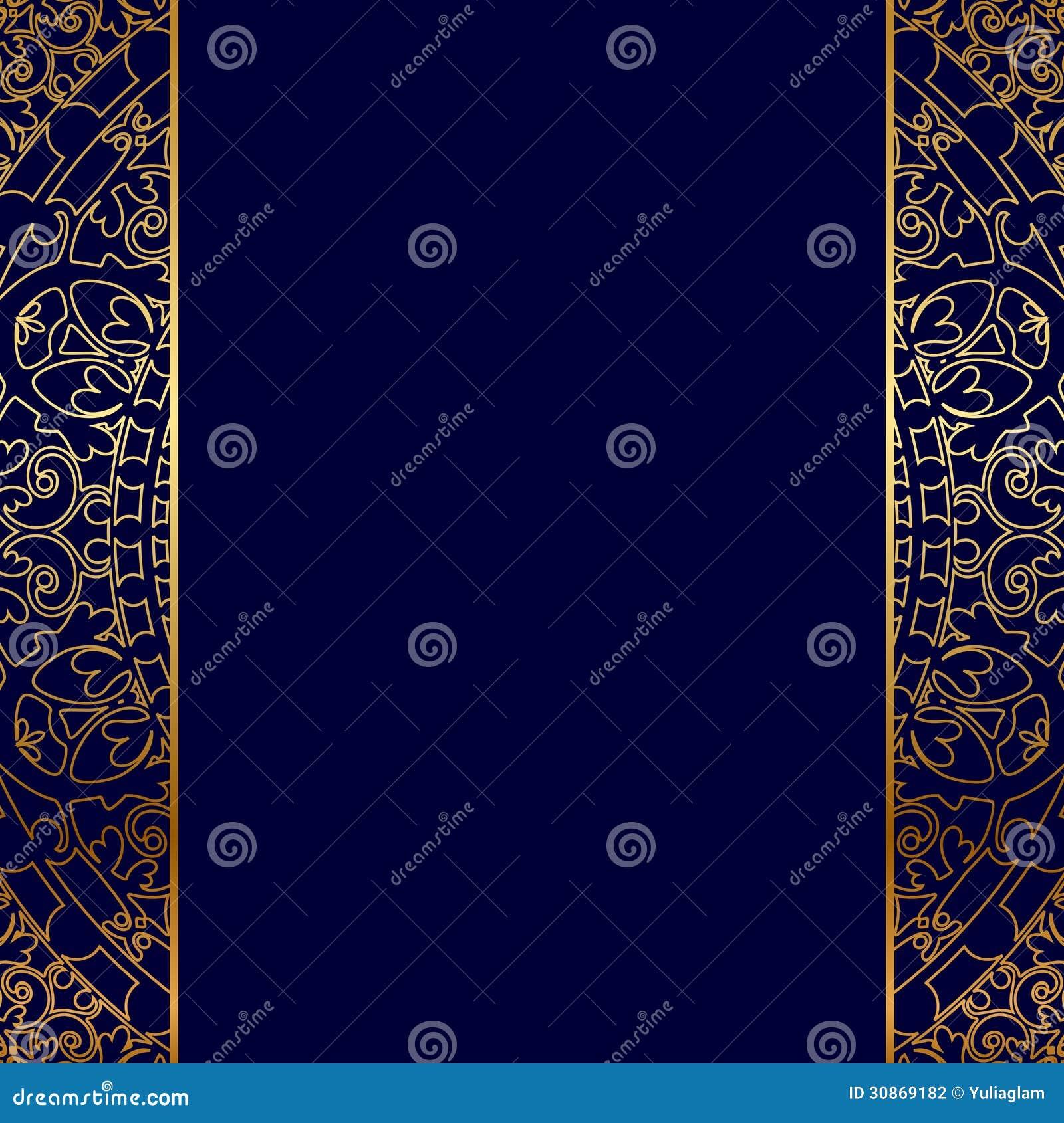 Gold Ornate Border Stock Photography Image 30869182