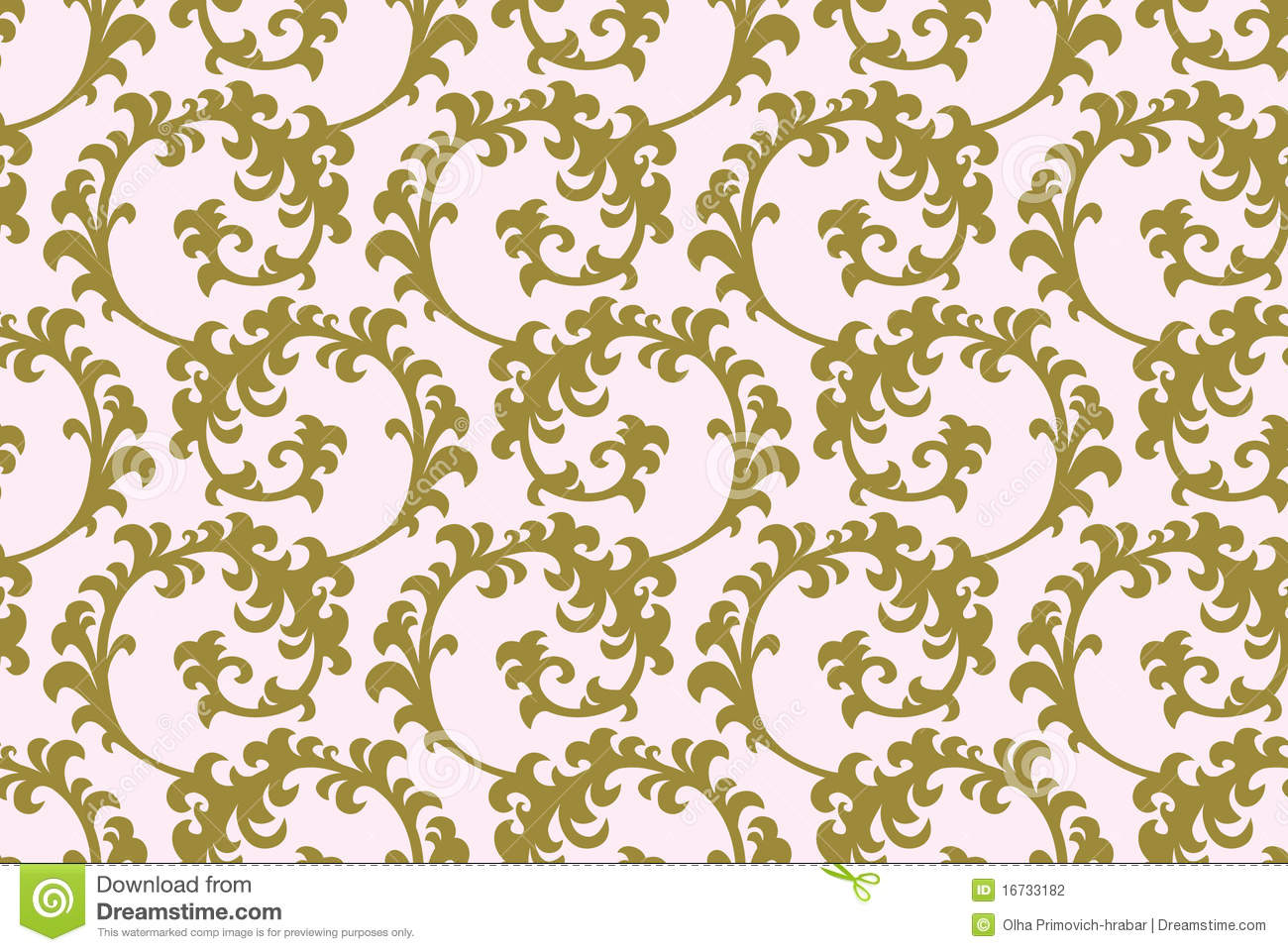 Gold Pattern Background Stock Photography - Image: 16733182