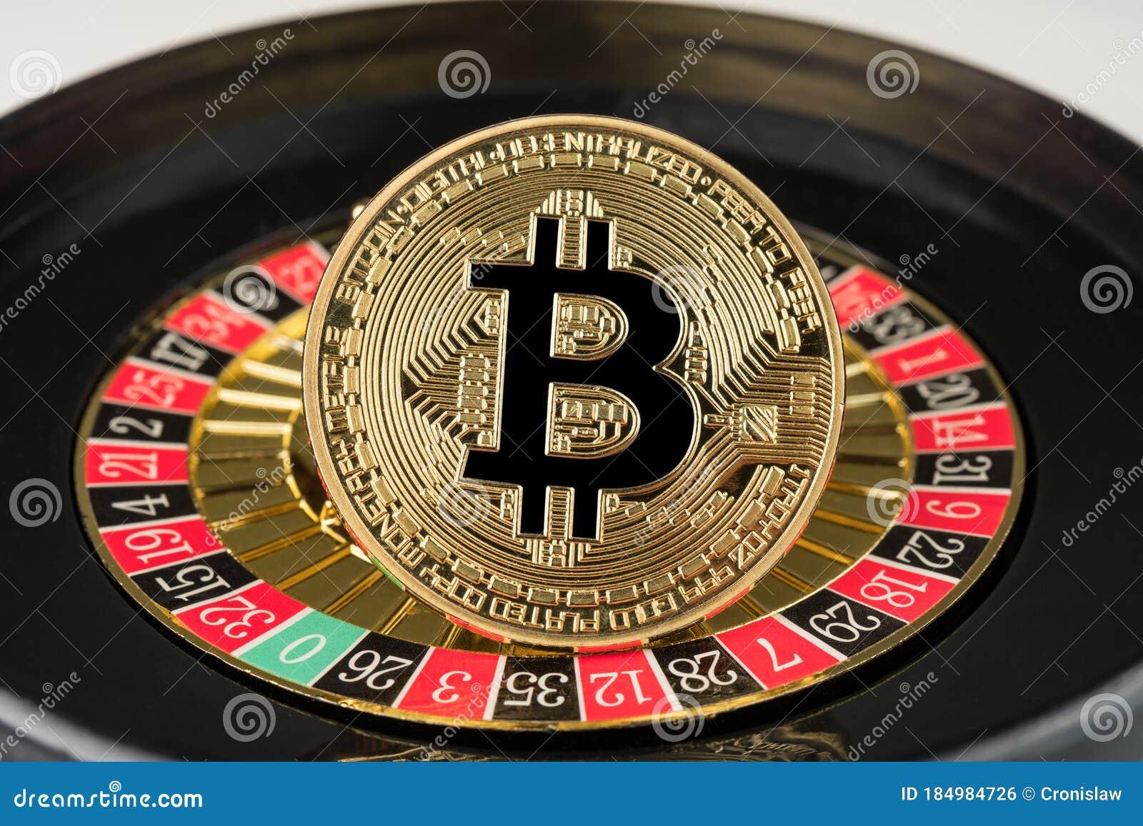 bitcoin ruletė