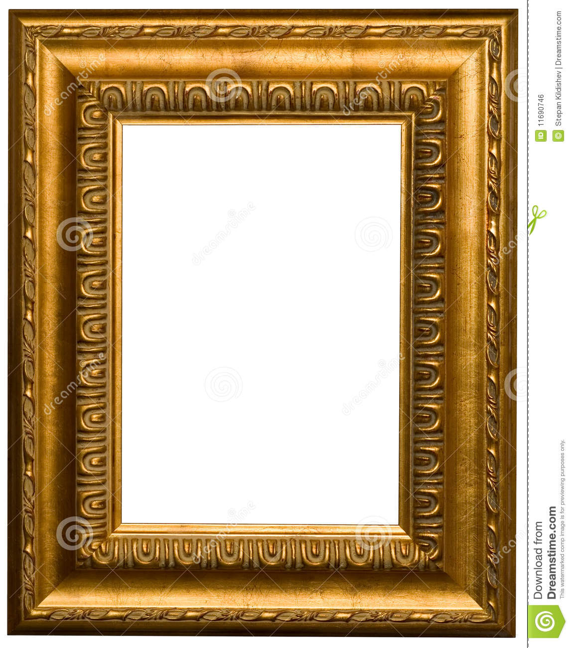 Gold Picture Frames Royalty Free Stock Image Image 11690746
