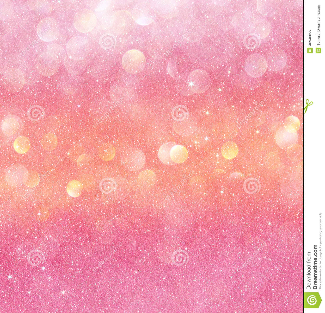 Gold And Pink Abstract...