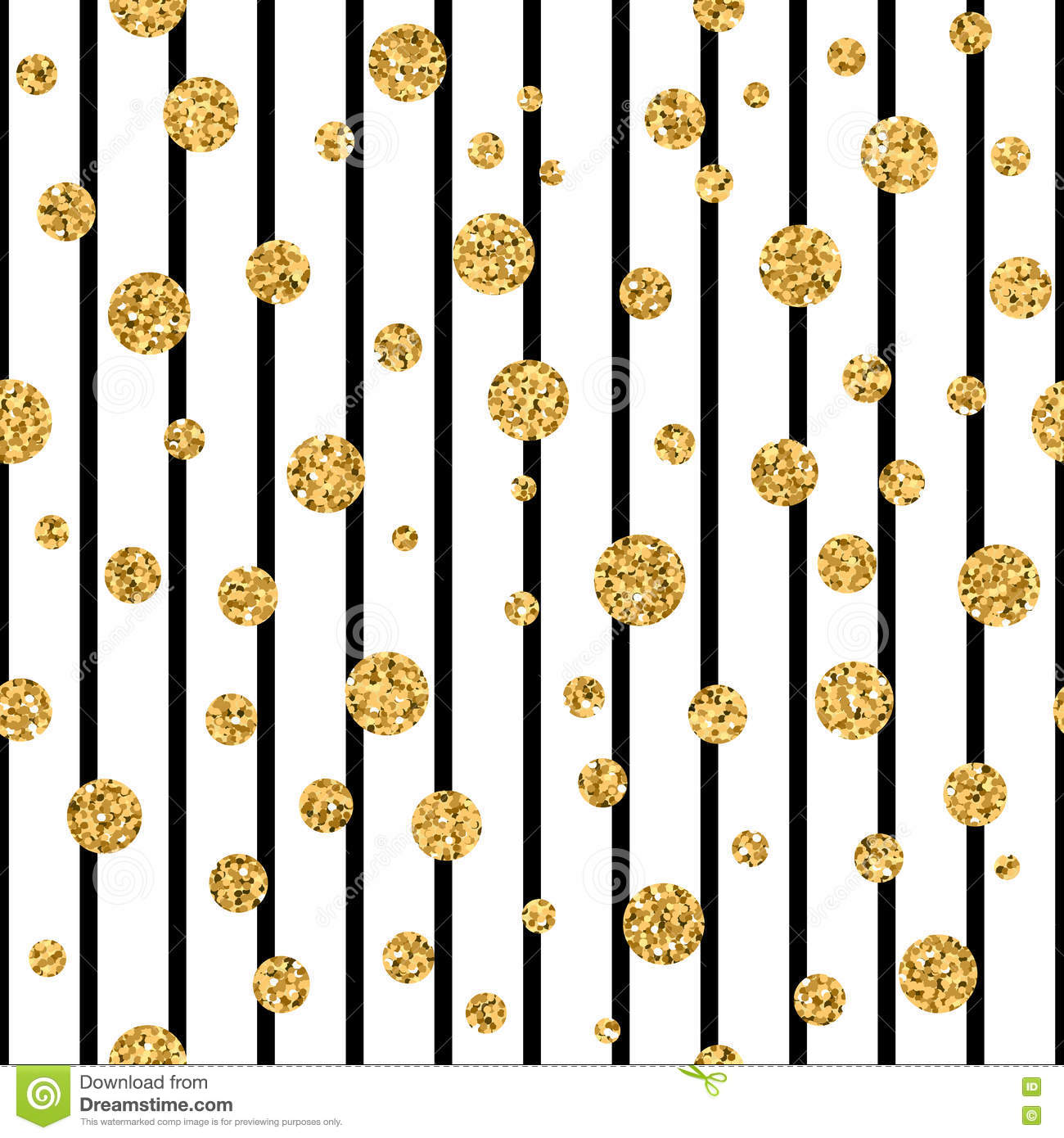 gold polka dot confetti seamless pattern stock vector illustration of birthday backdrop 80436322. Black Bedroom Furniture Sets. Home Design Ideas