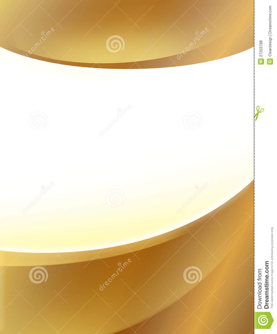 Gold Poster Background Royalty Free Stock Photos Image