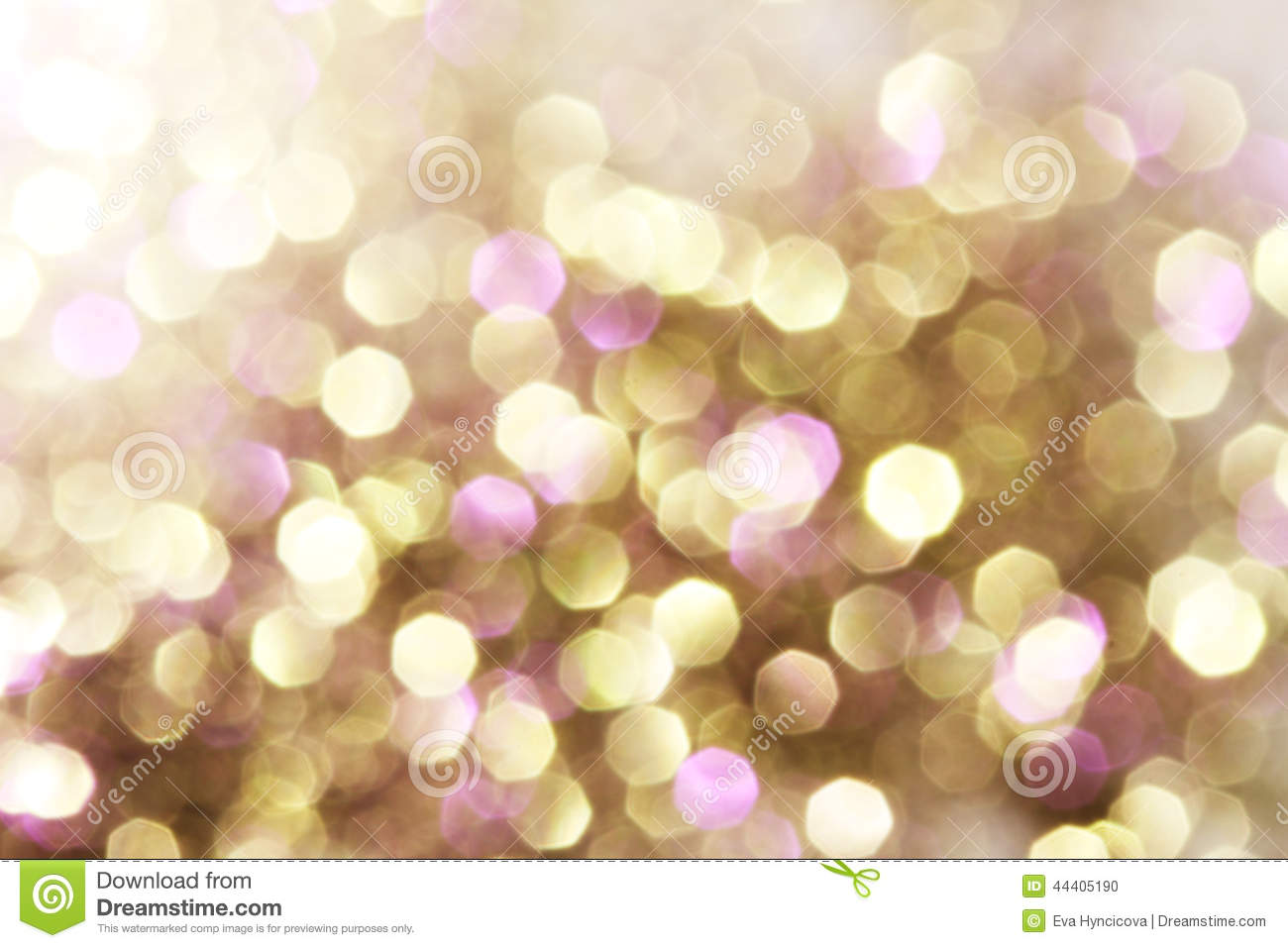 gold and purple and red abstract bokeh lights defocused