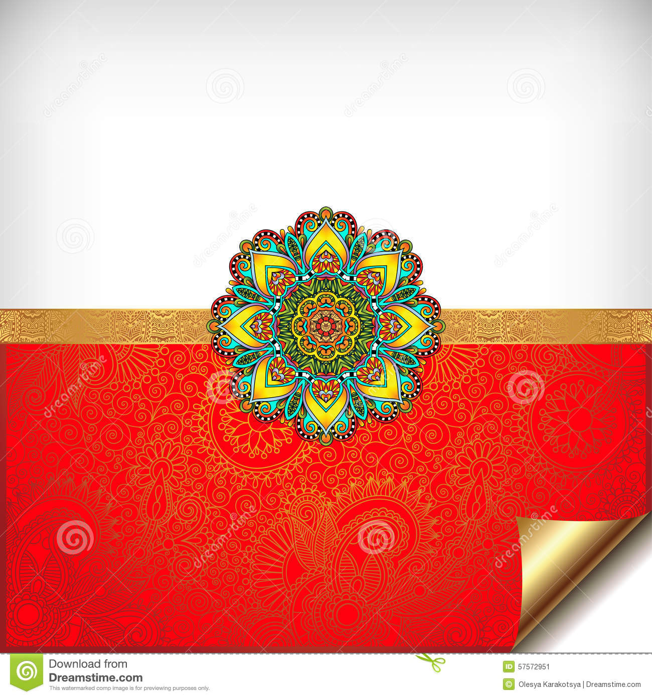 Gold and red happy rakhi greeting card stock vector illustration download gold and red happy rakhi greeting card stock vector illustration of artistic event m4hsunfo