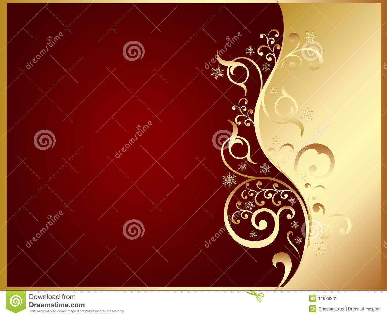 Stock Image Gold Red Invitation Card Image11639861 on Thank You Card Modern Graphics Cards For