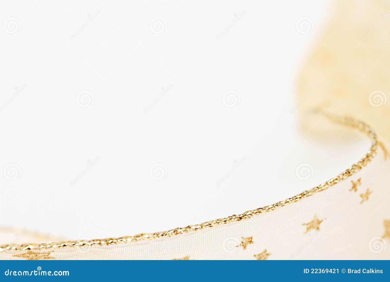 Gold Ribbon Background Stock Image Image 22369421